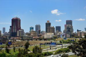 улицы в Йоханнесбурге