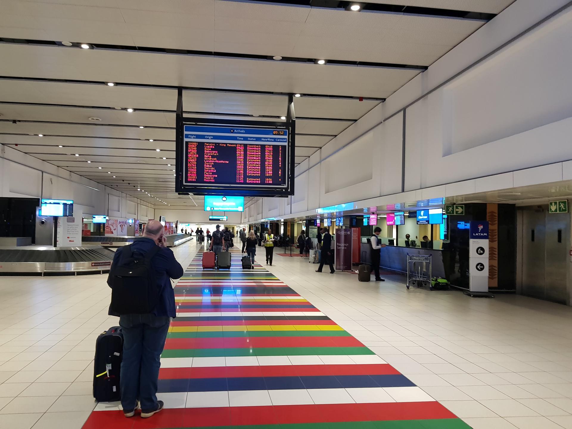аэропорт Тамбо Йоханнесбург