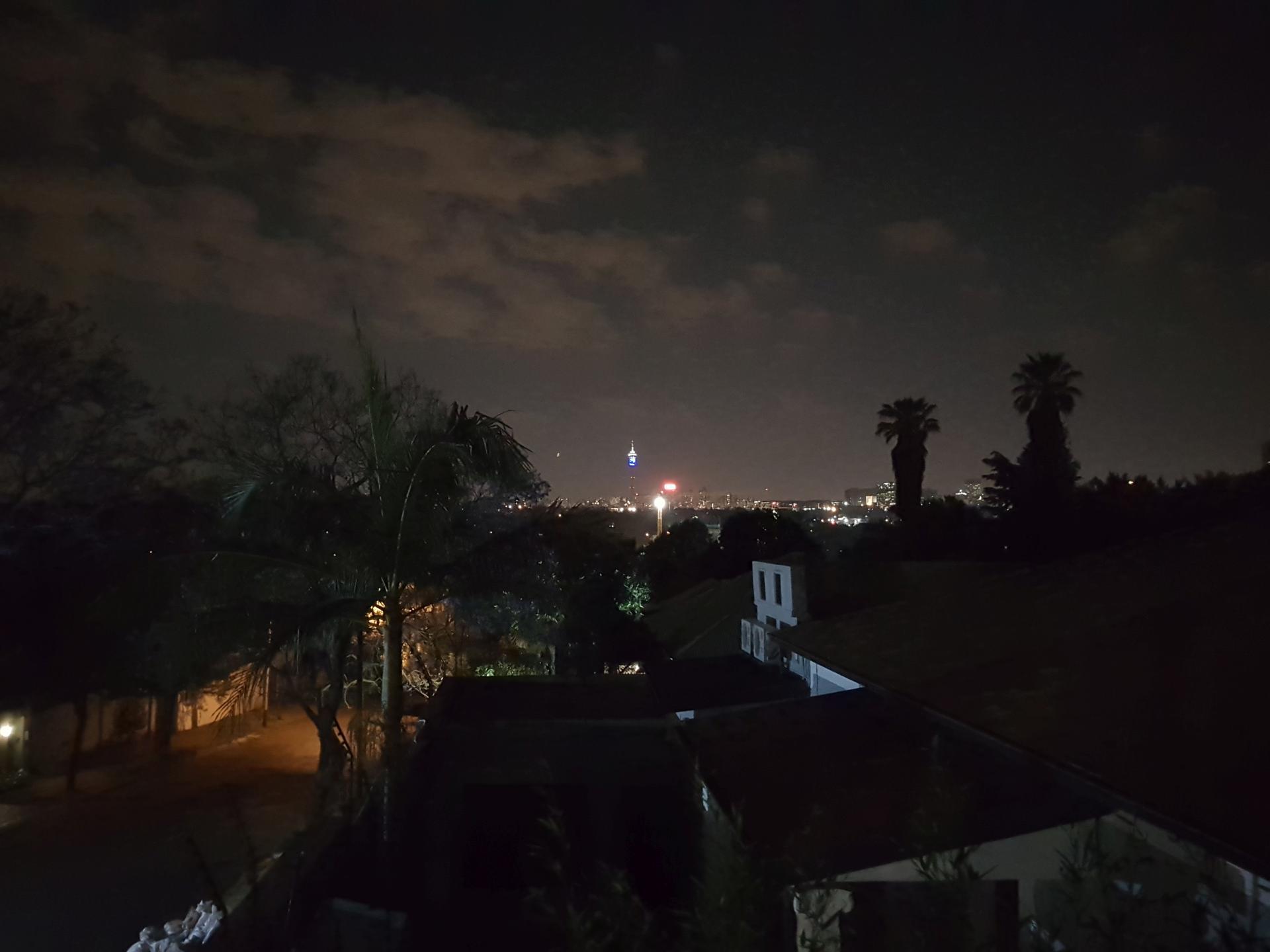 Ночной Йоханнесбург