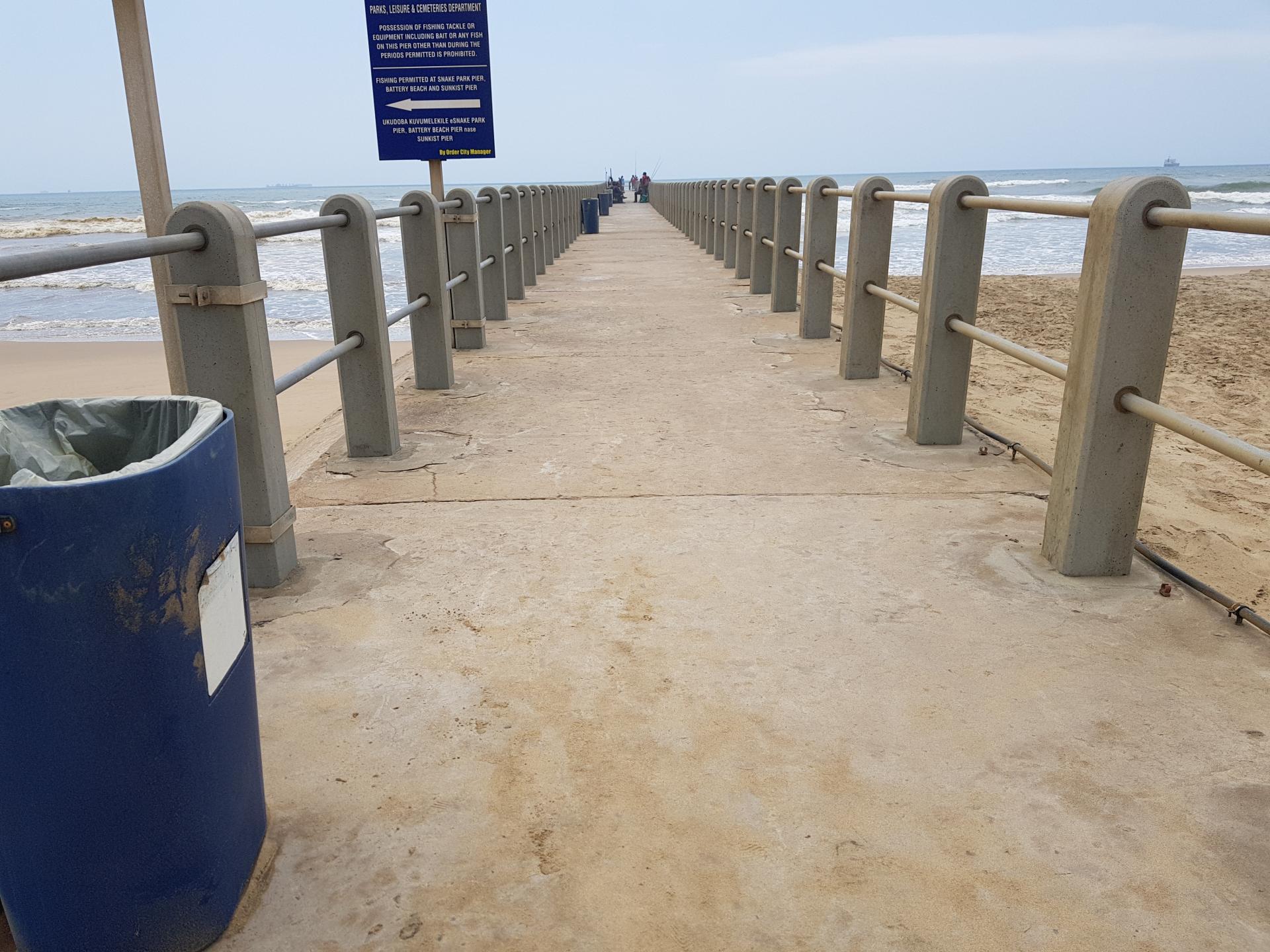 морской пирс в Дурбане