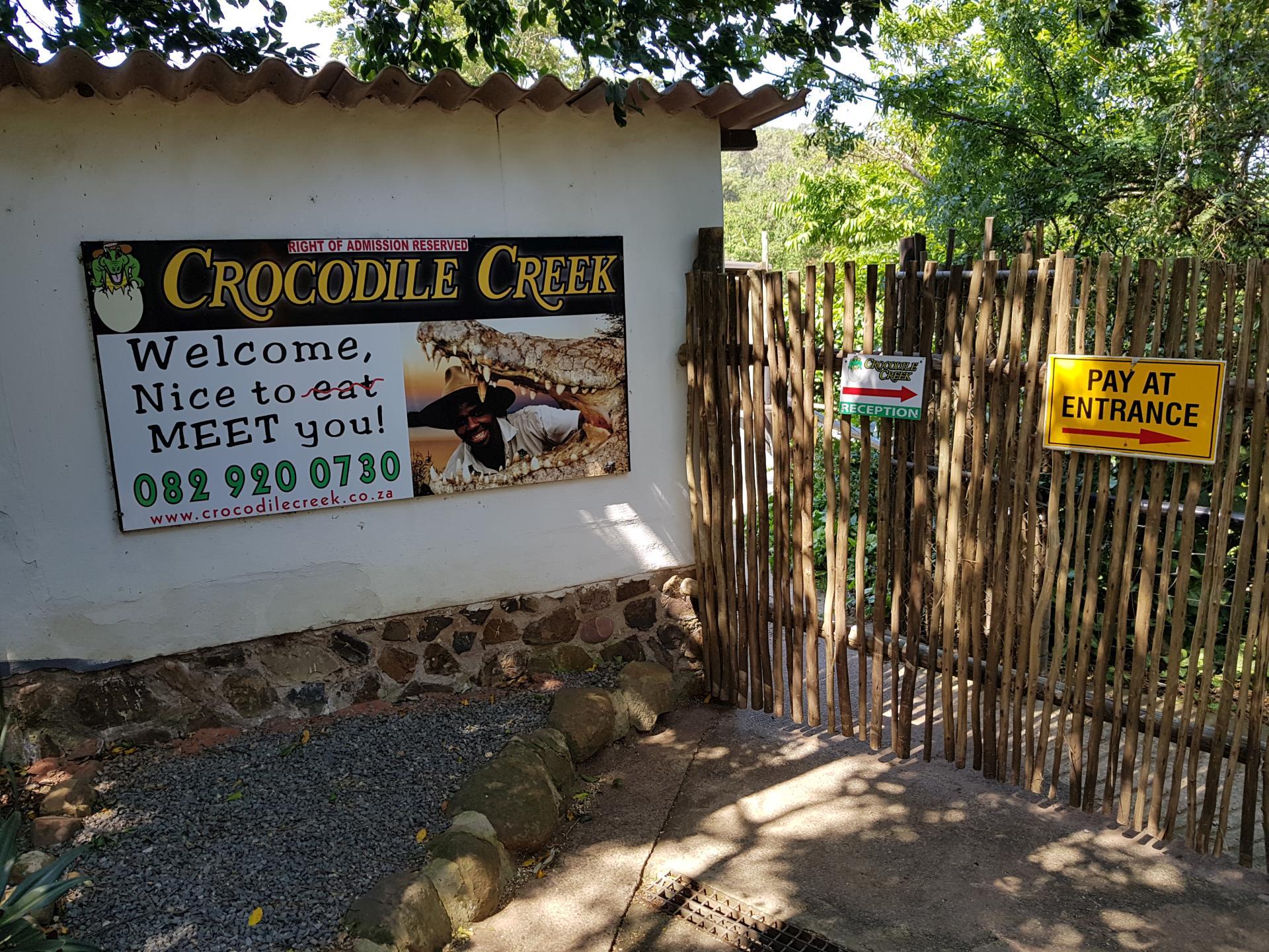 крокодилов ручей, ЮАР