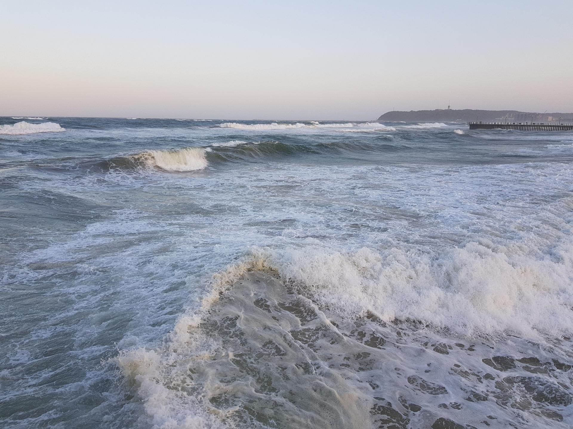 волны в Индийском океане, ЮАР