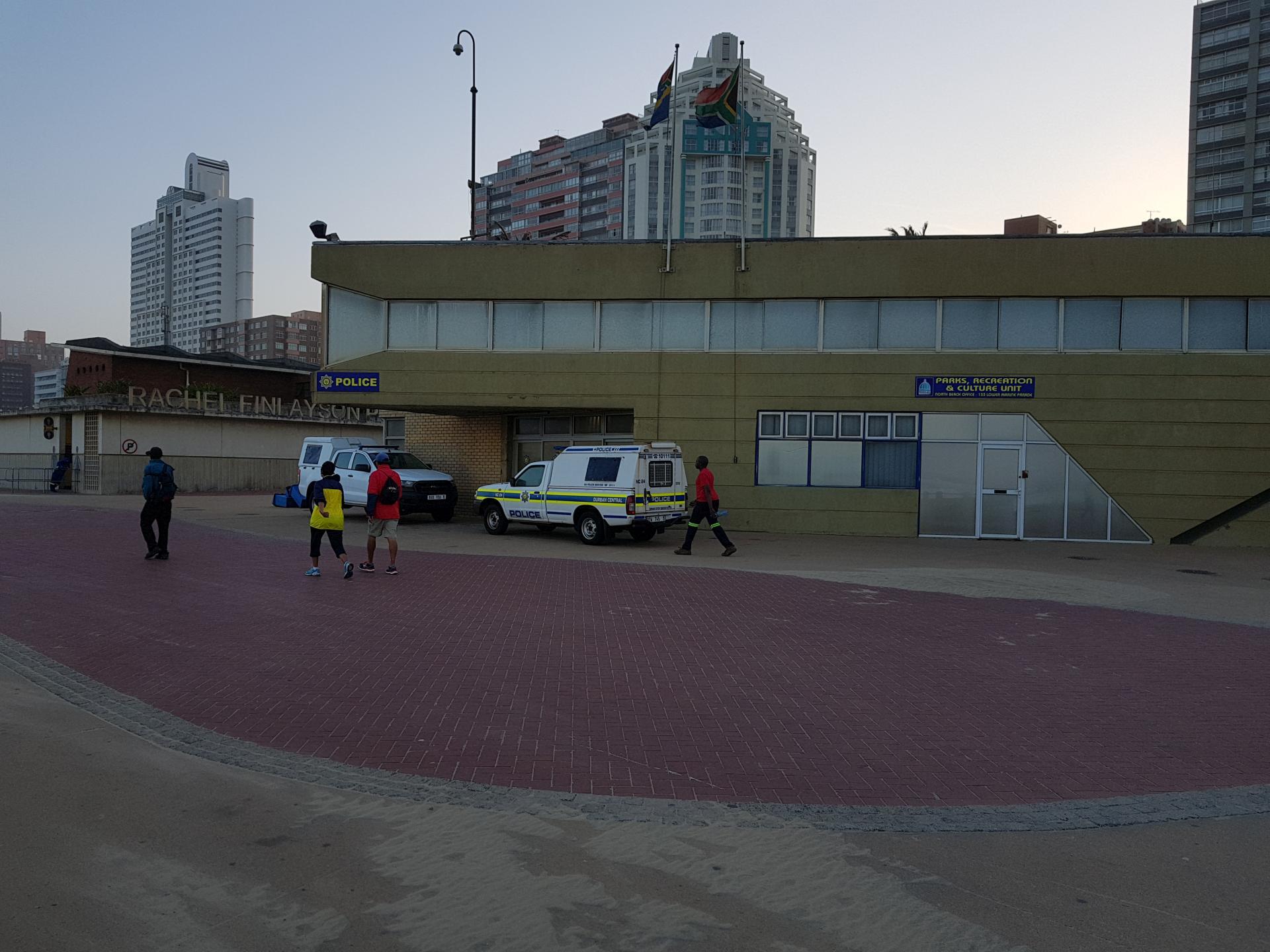 полицейский участок в Дурбане, ЮАР