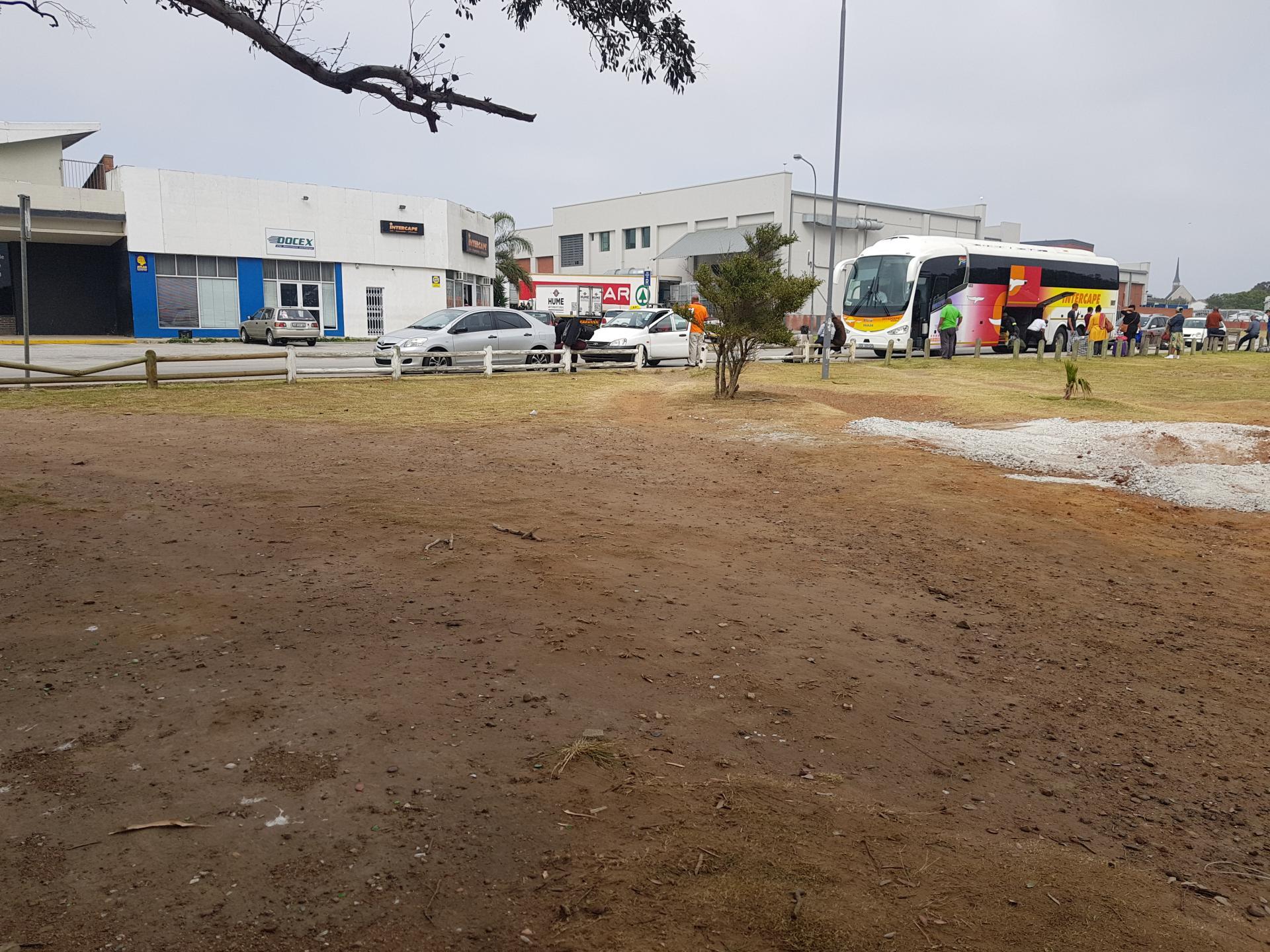 автобусная остановка в Порт-Элизабет