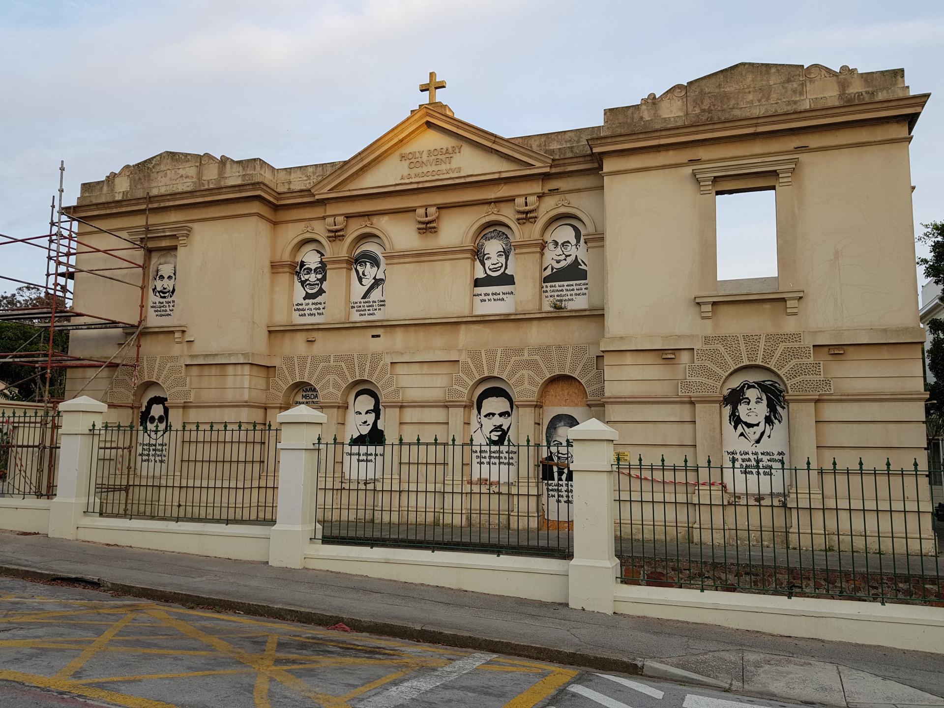 стрит-арт на улицах Порт-Элизабет