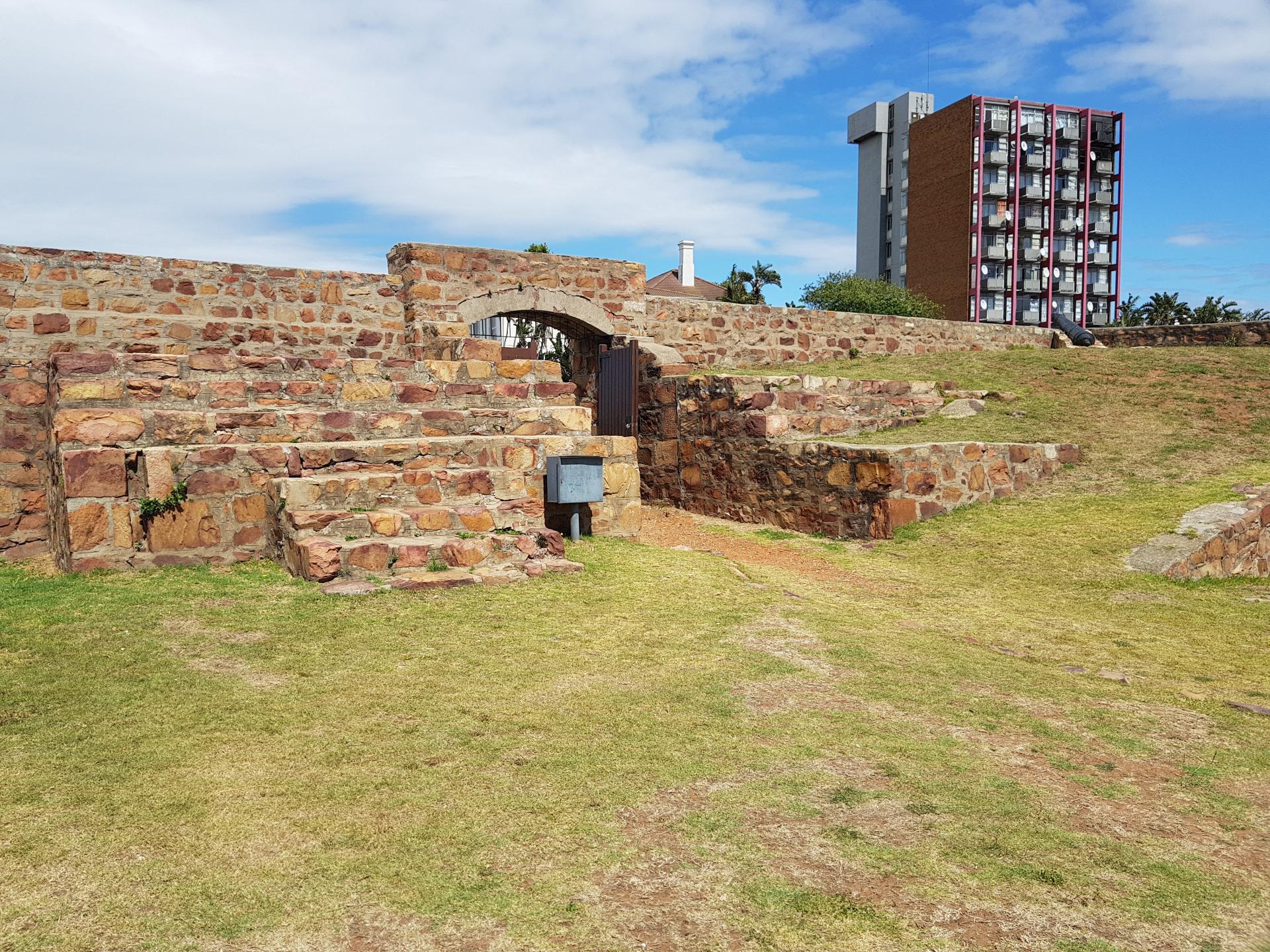 внутри форта Фредерик, Порт-Элизабет