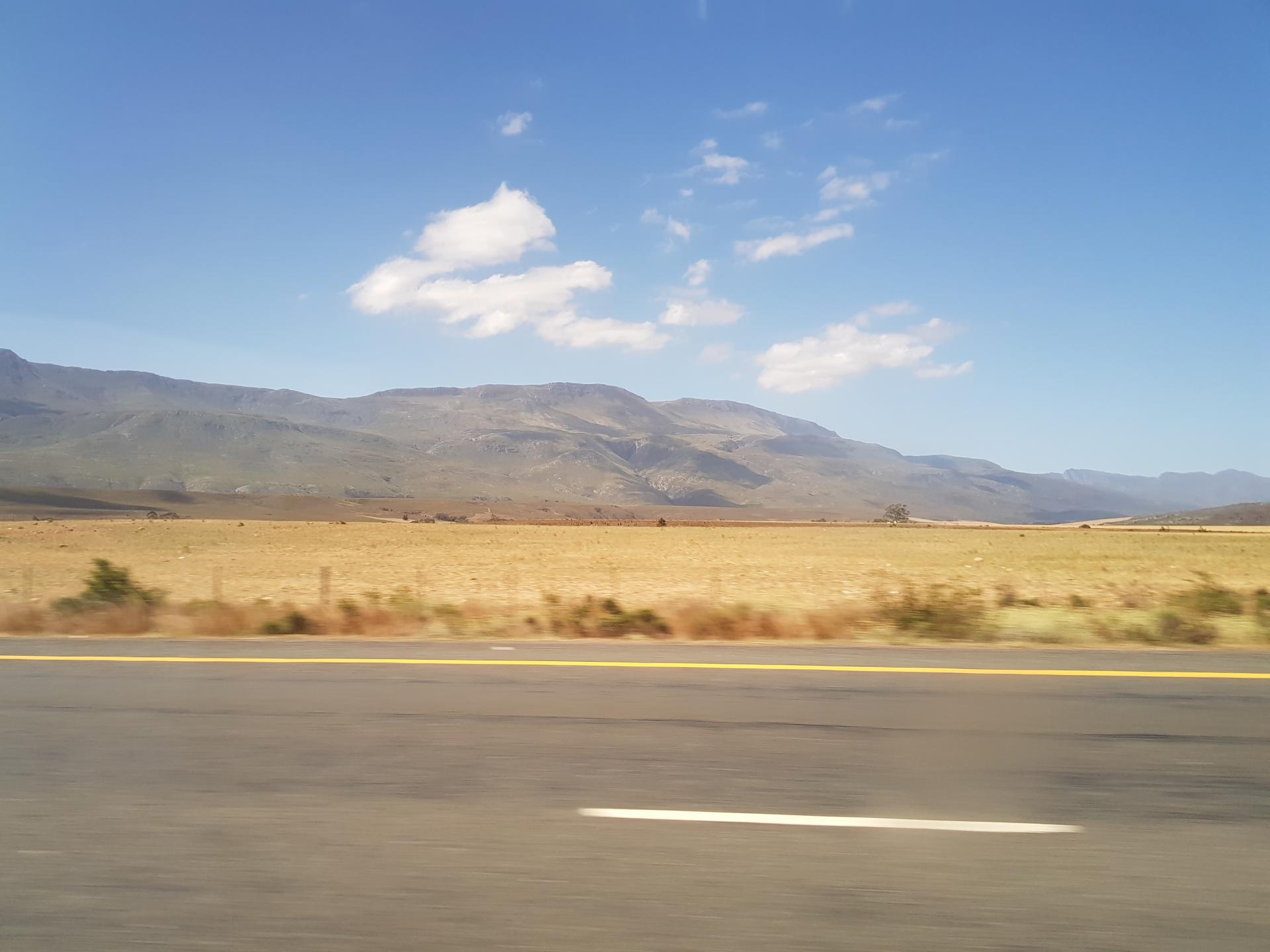 ландшафт Южной Африки