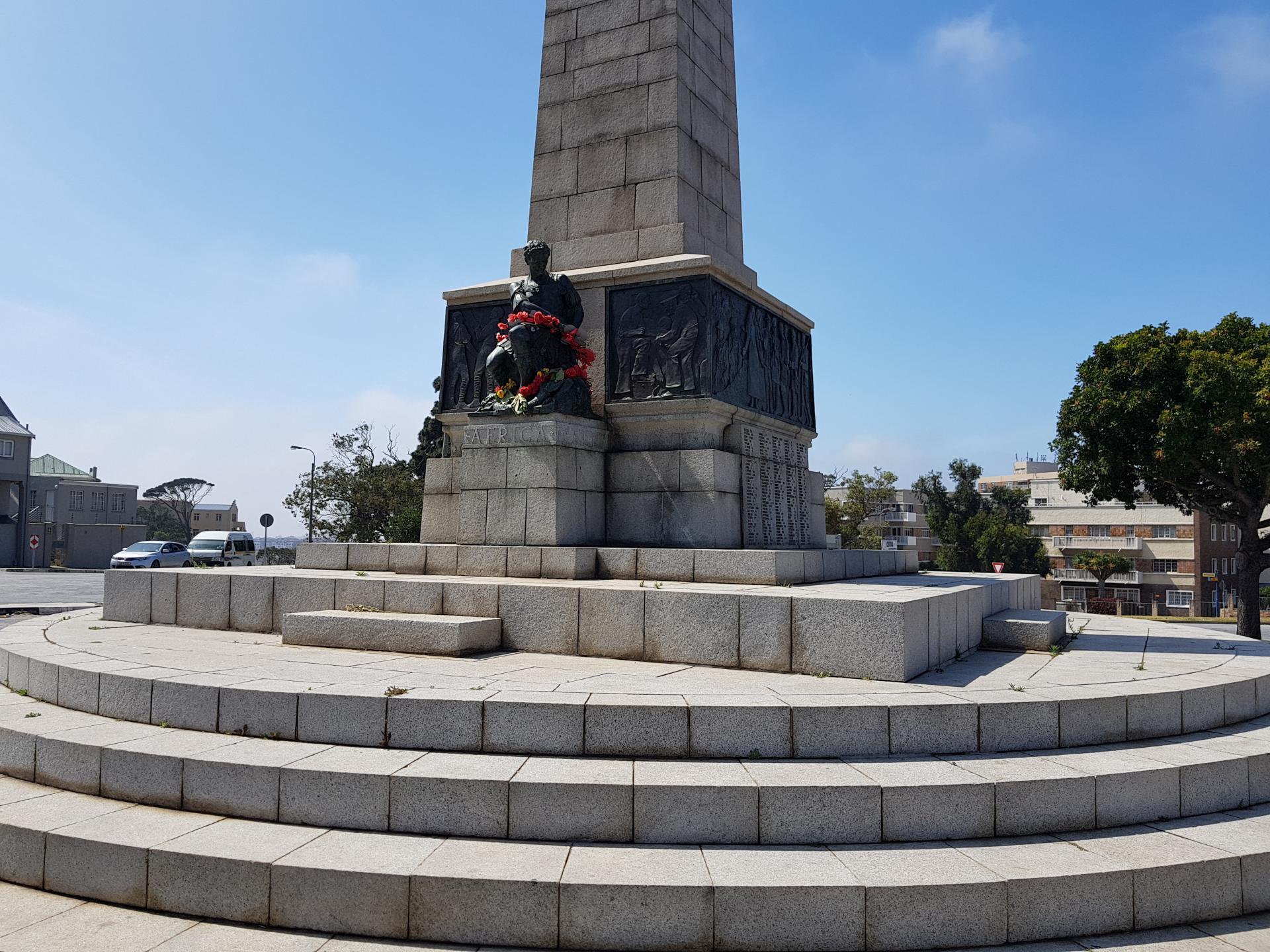 Памятник Неизвестным солдатам в Порт-Элизабет, ЮАР