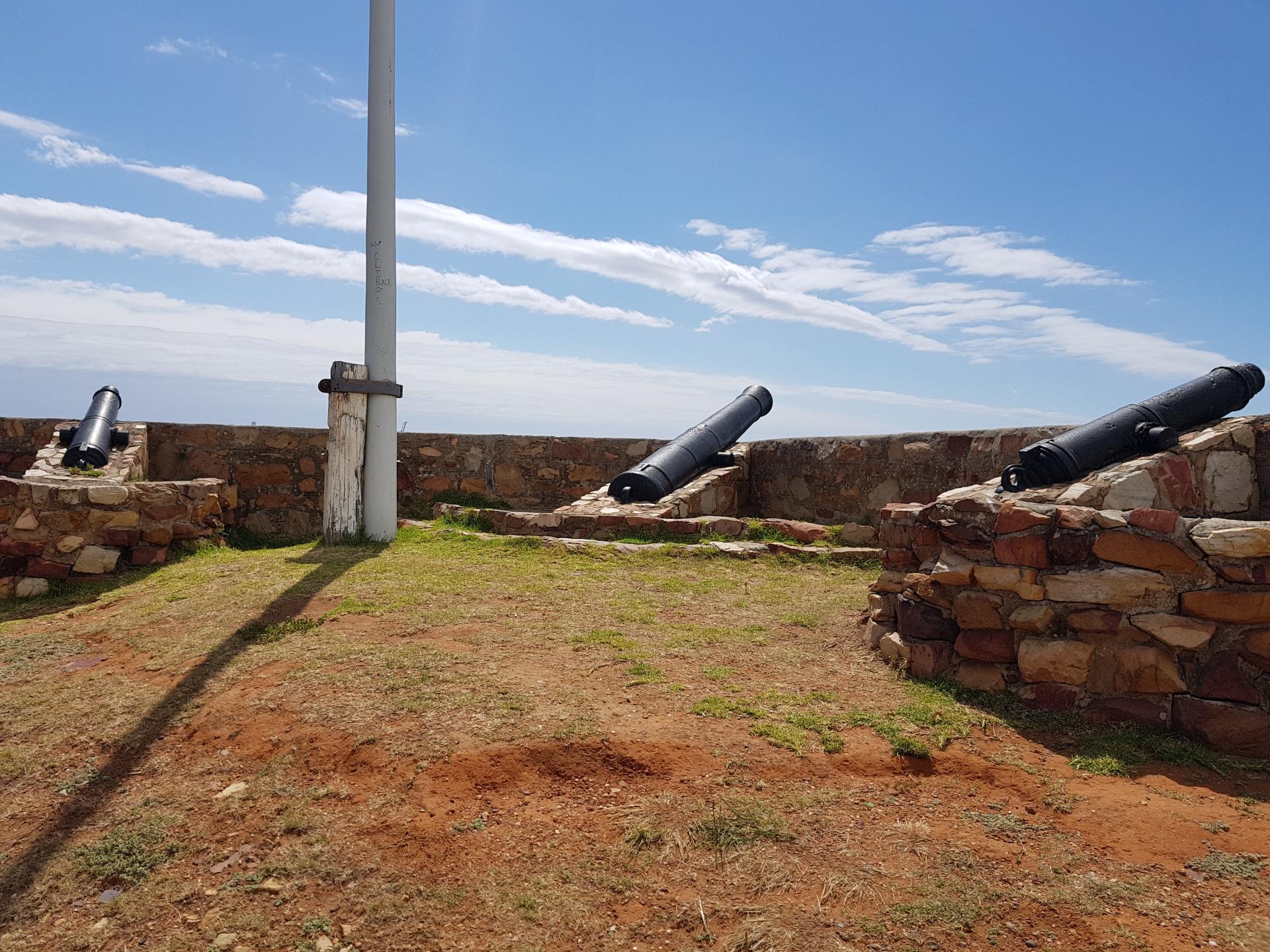 пушки форта Фредерик, Порт-Элизабет