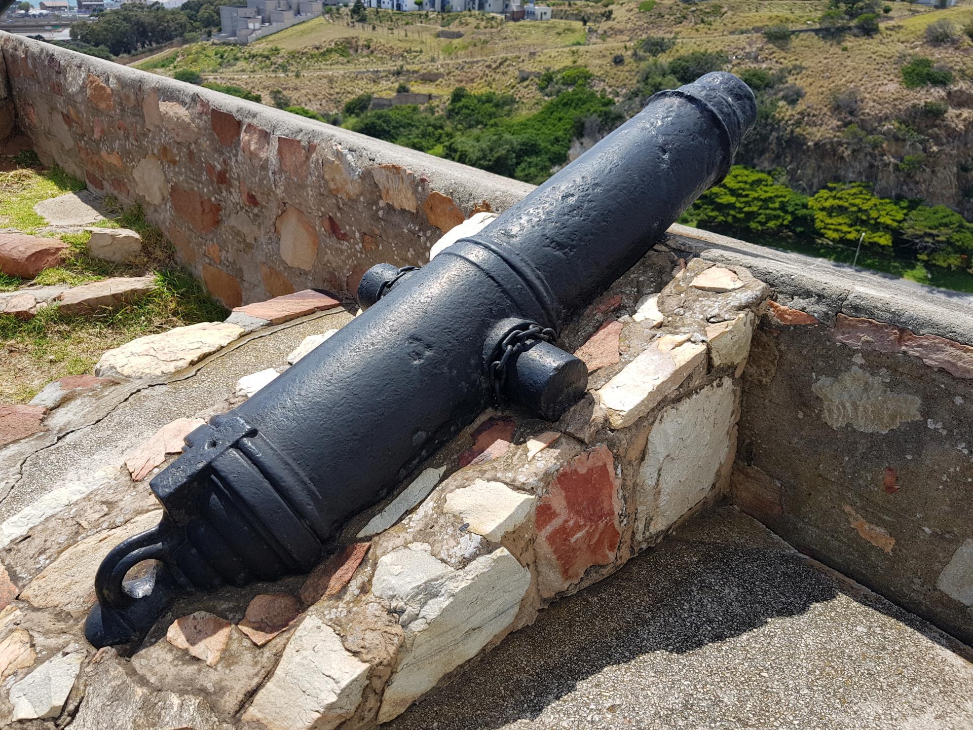 пушка в форте Фредерик, Порт-Элизабет