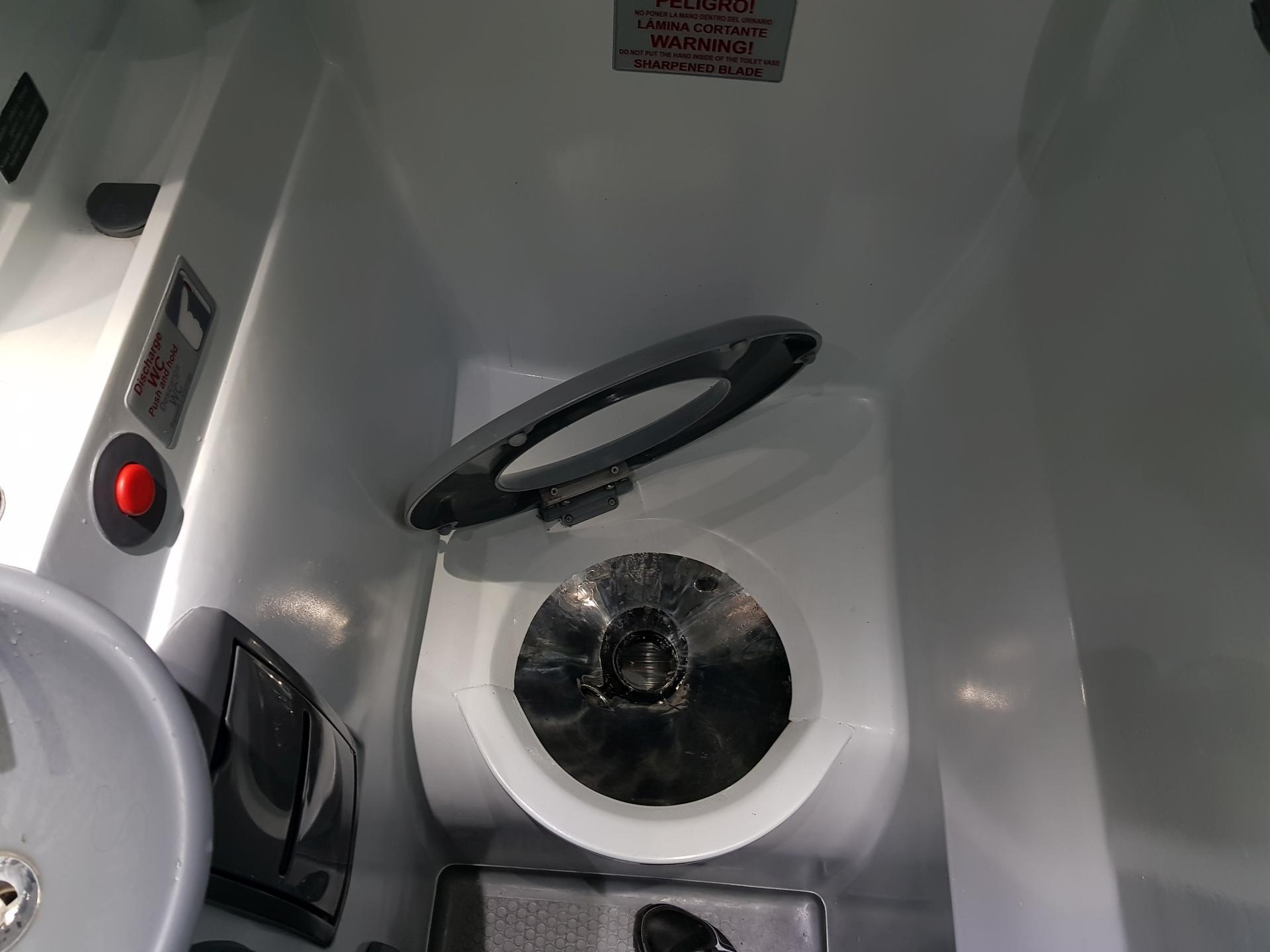 туалет в автобусе Intercape