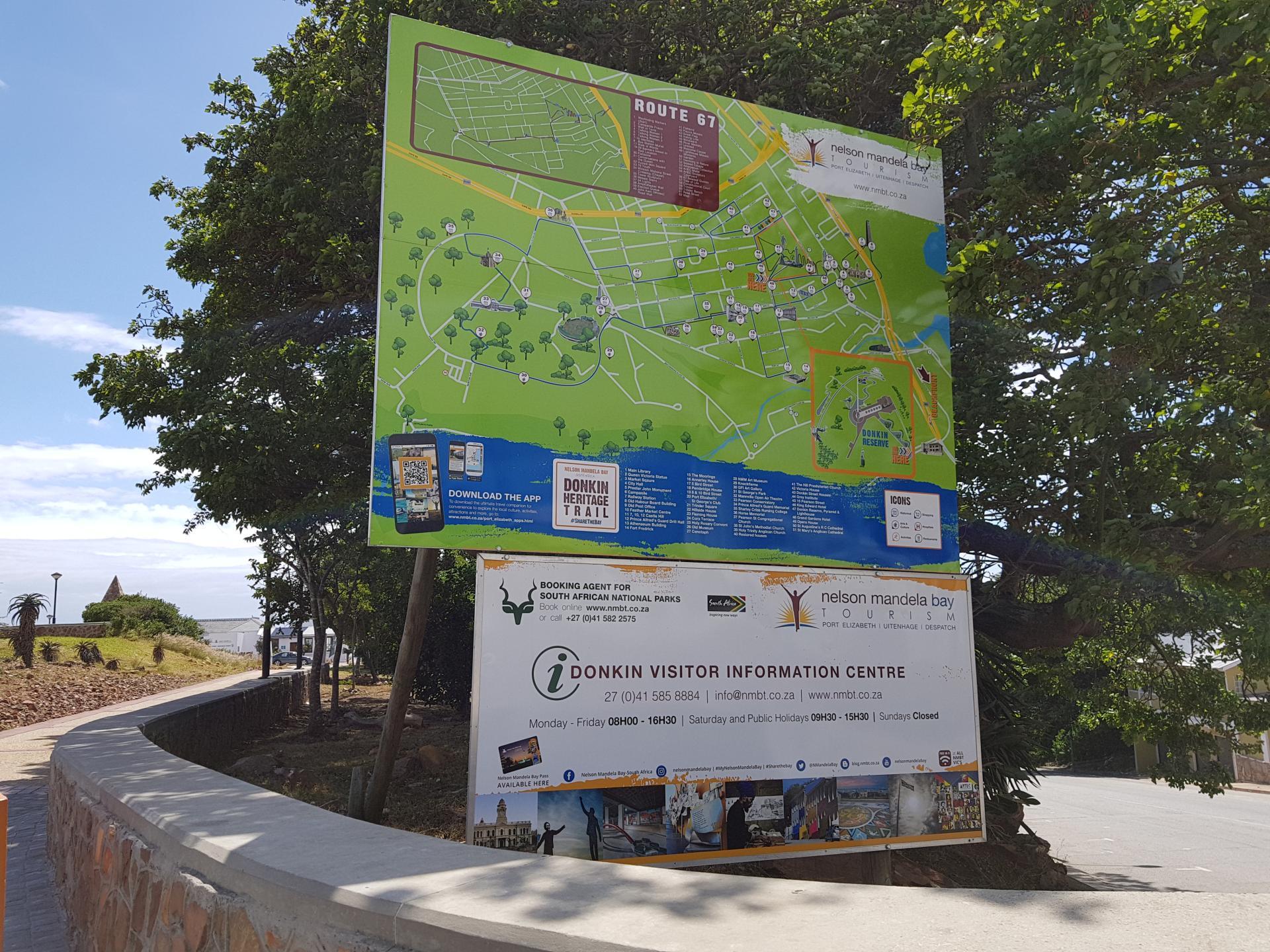 информационный указатель Donkin Reserve