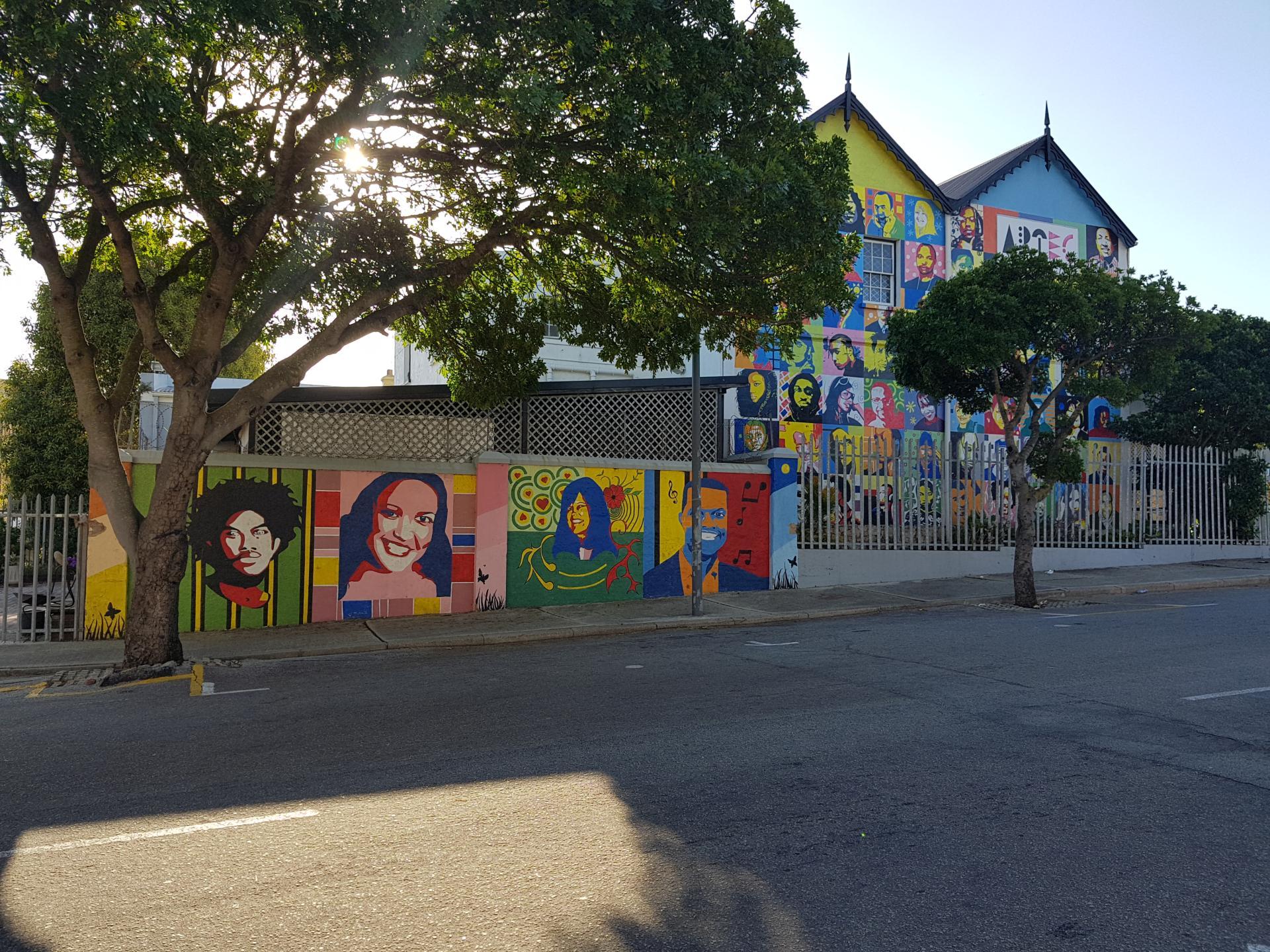уличное граффити в Порт-Элизабет