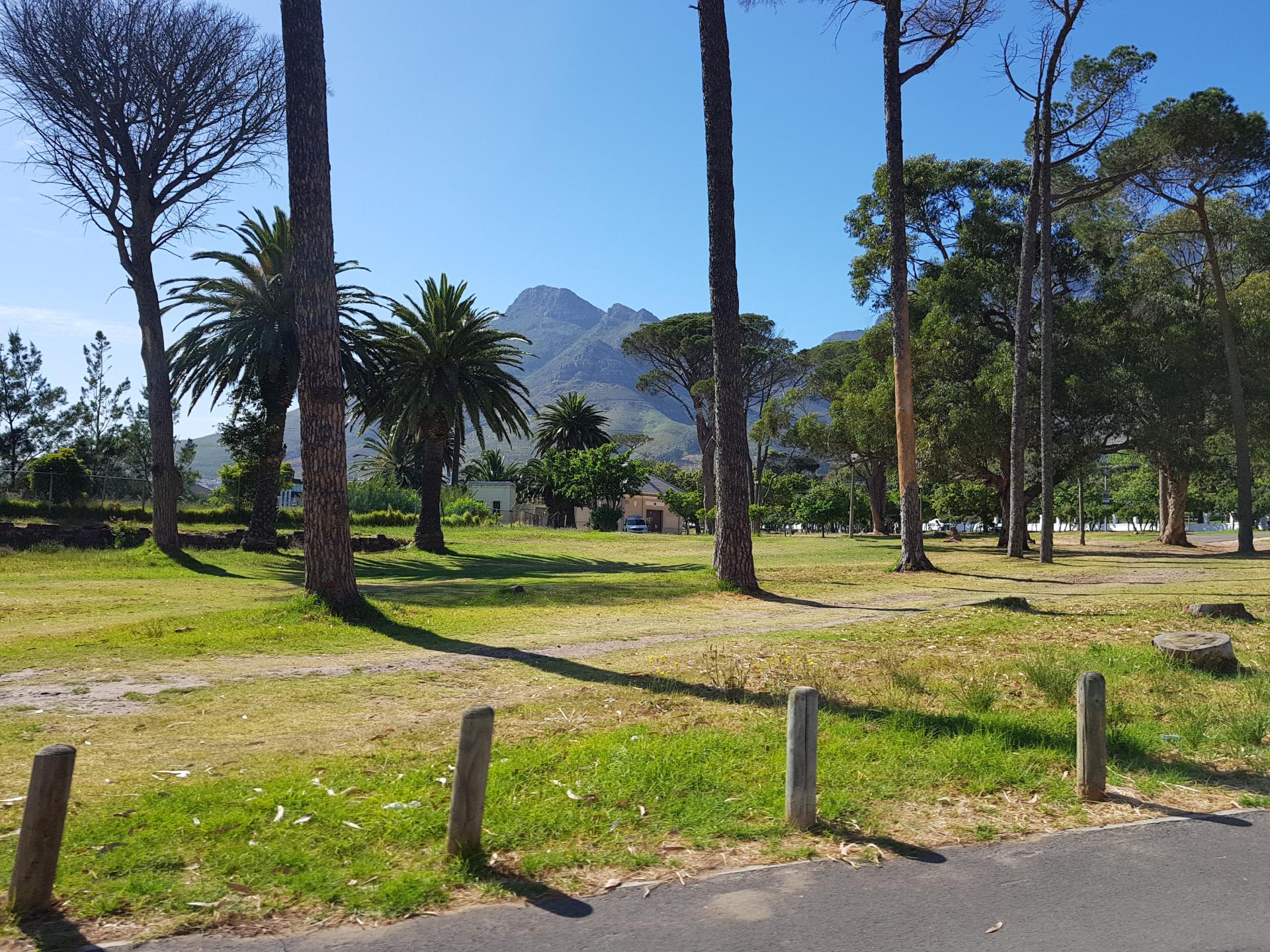 горы вблизи Кейптауна