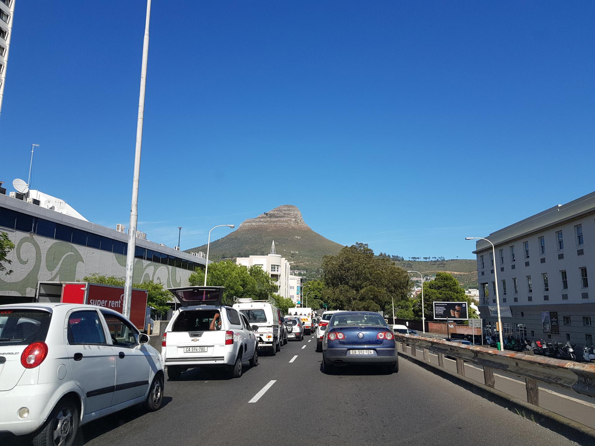 Львиный Пик, Кейптаун