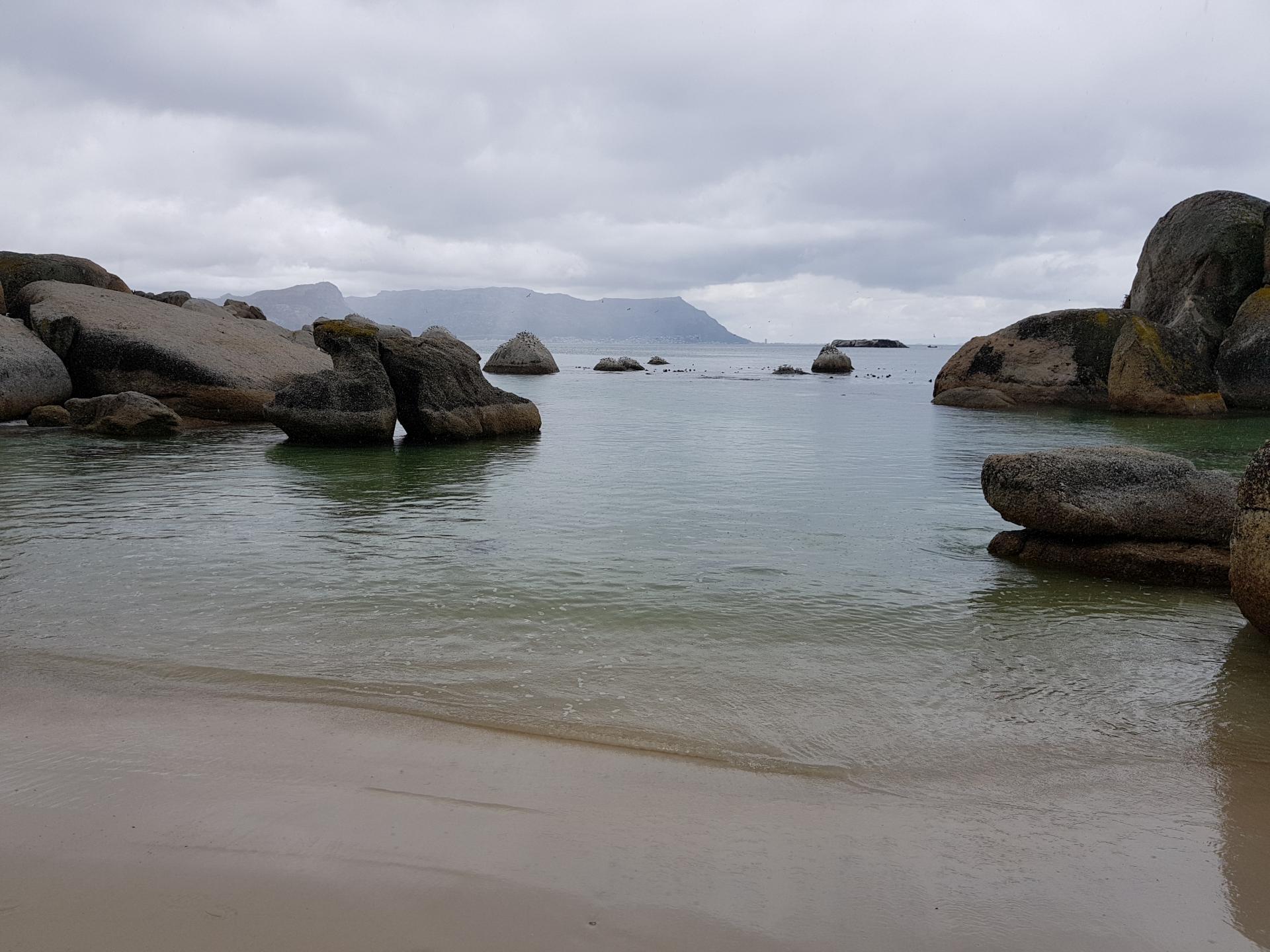 пляж Болдерс-Бич, Южная Африка