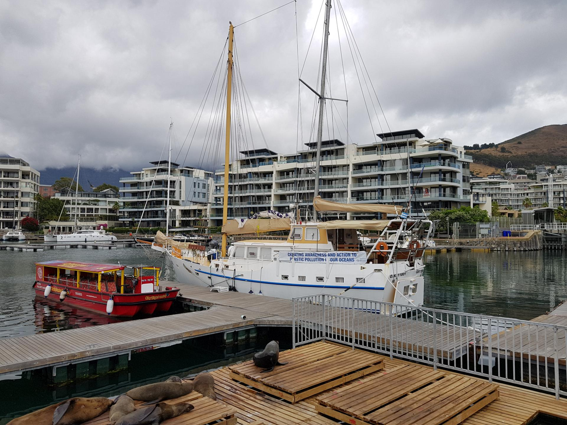 яхты в Кейптауне