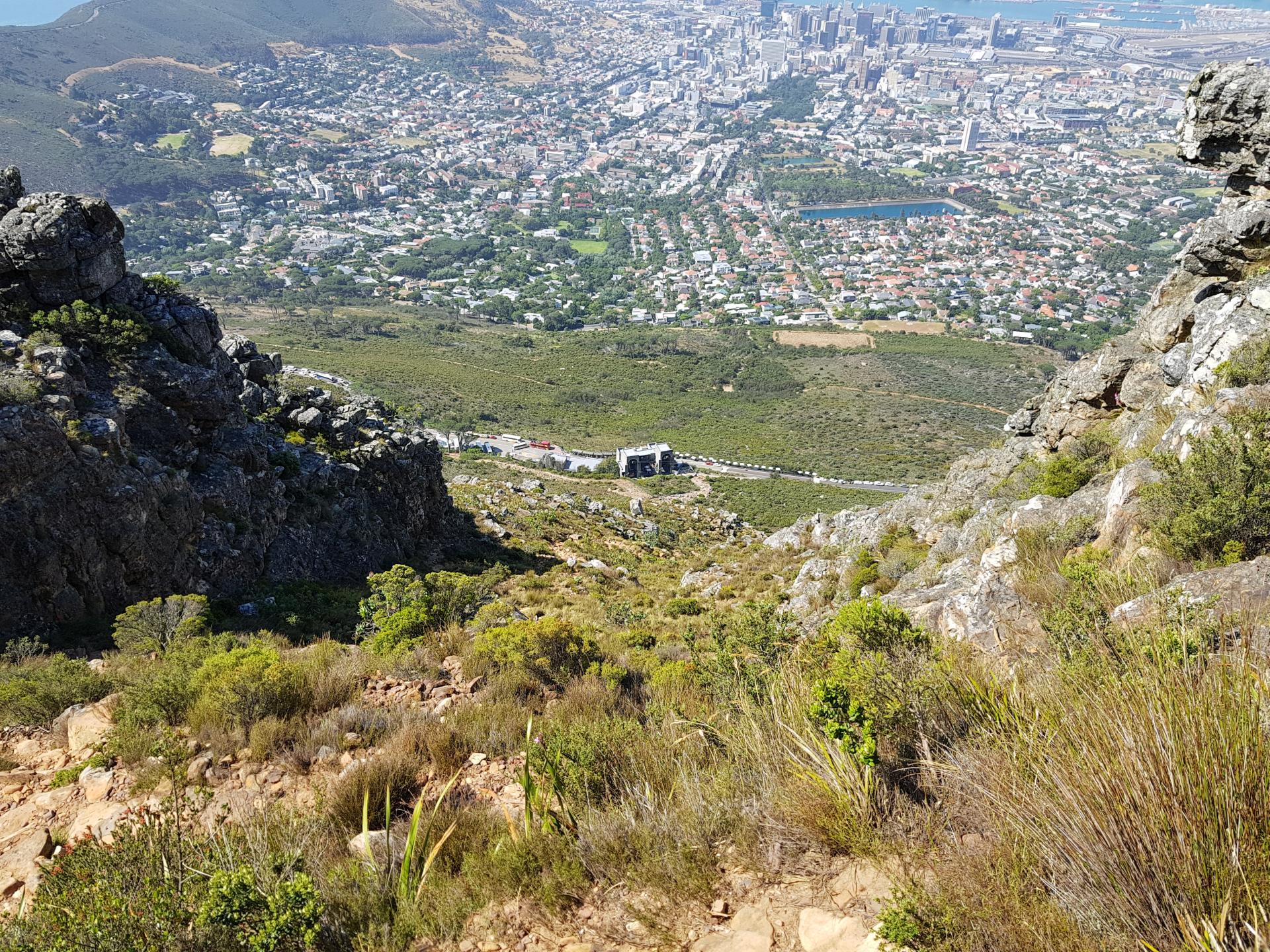 Будка фуникулера Столовой горы, Кейптаун