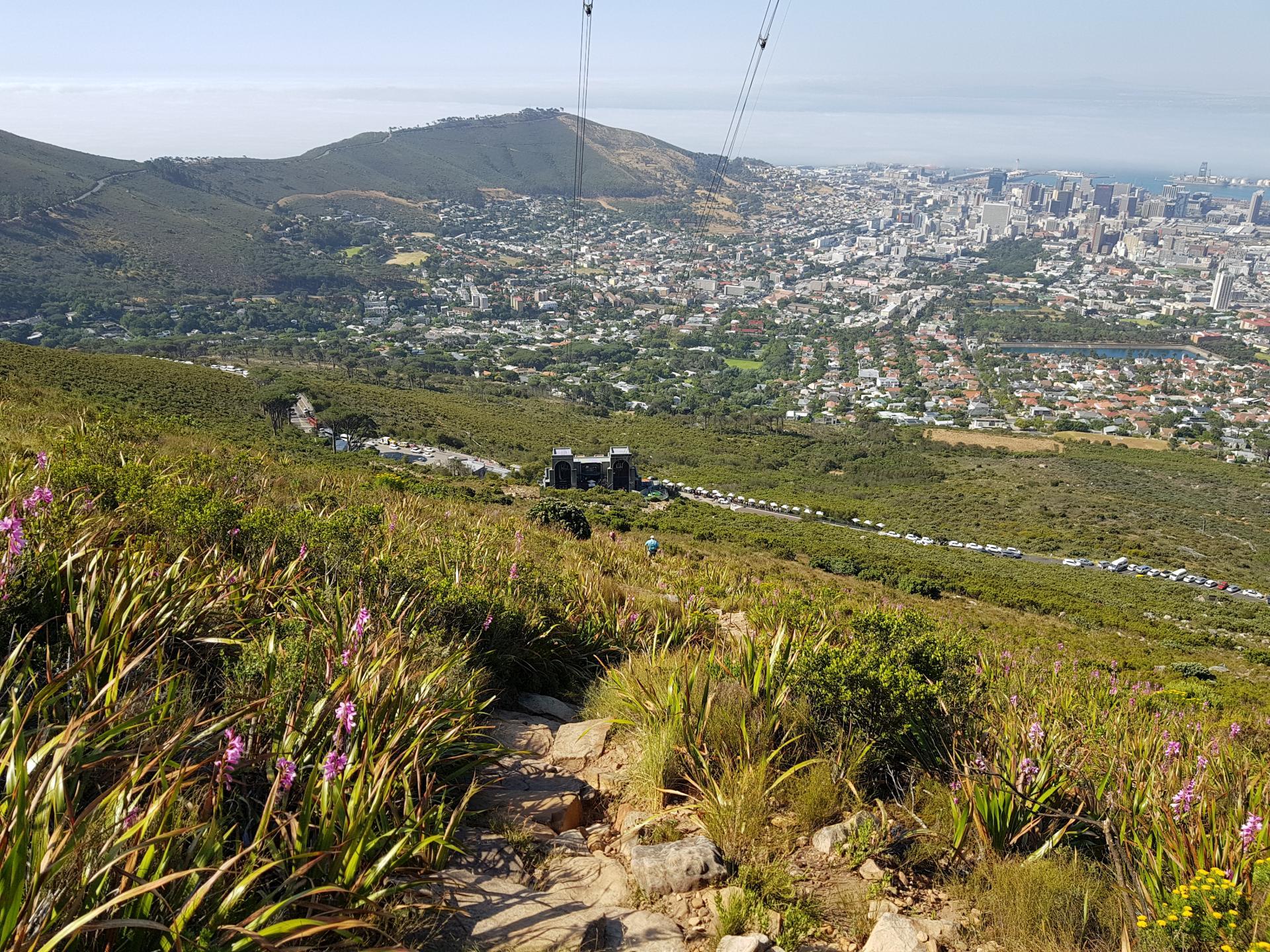 Будка канатной дороги Столовой горы, Кейптаун