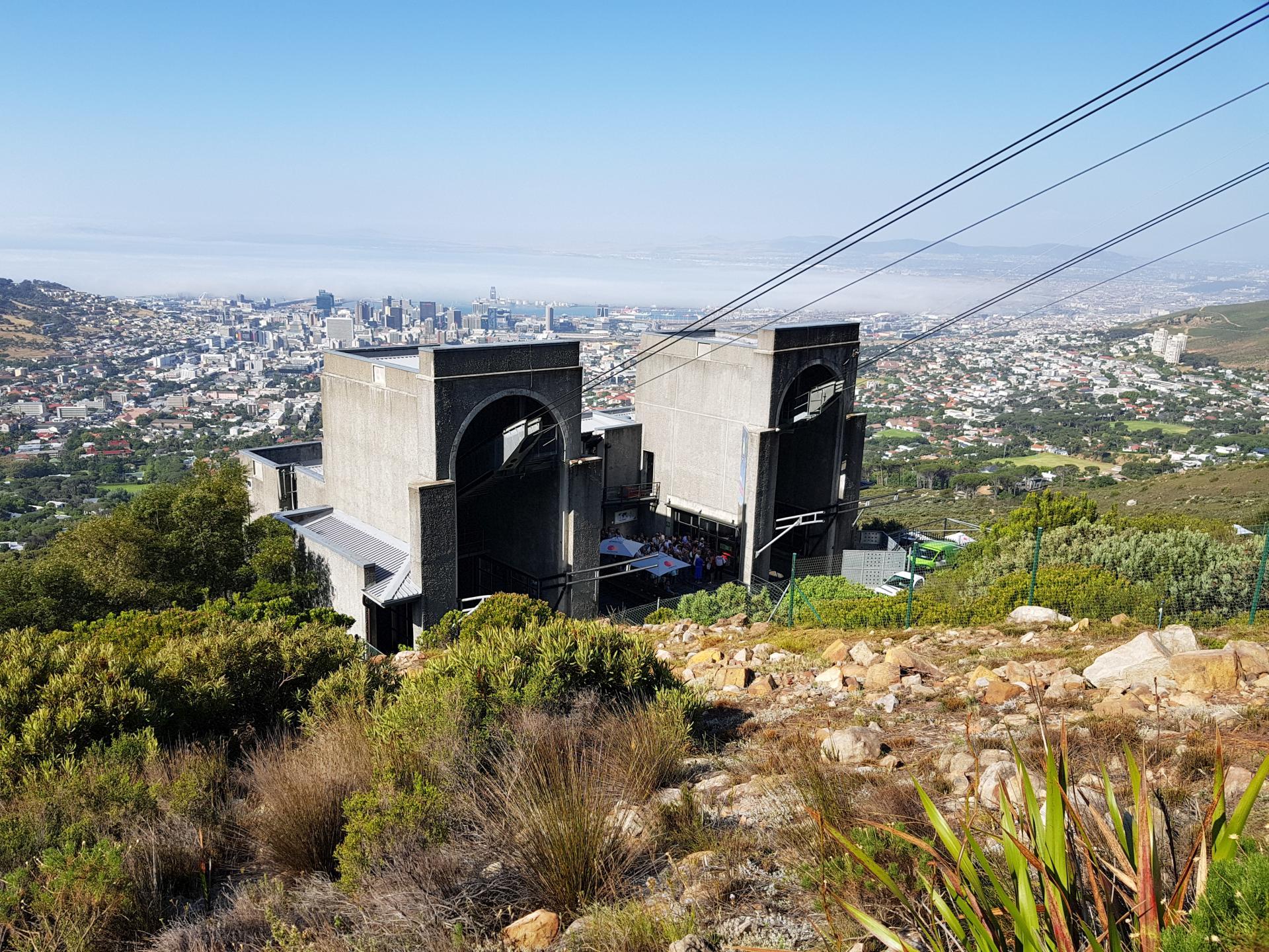 Станция канатной дороги Столовой горы, Кейптаун