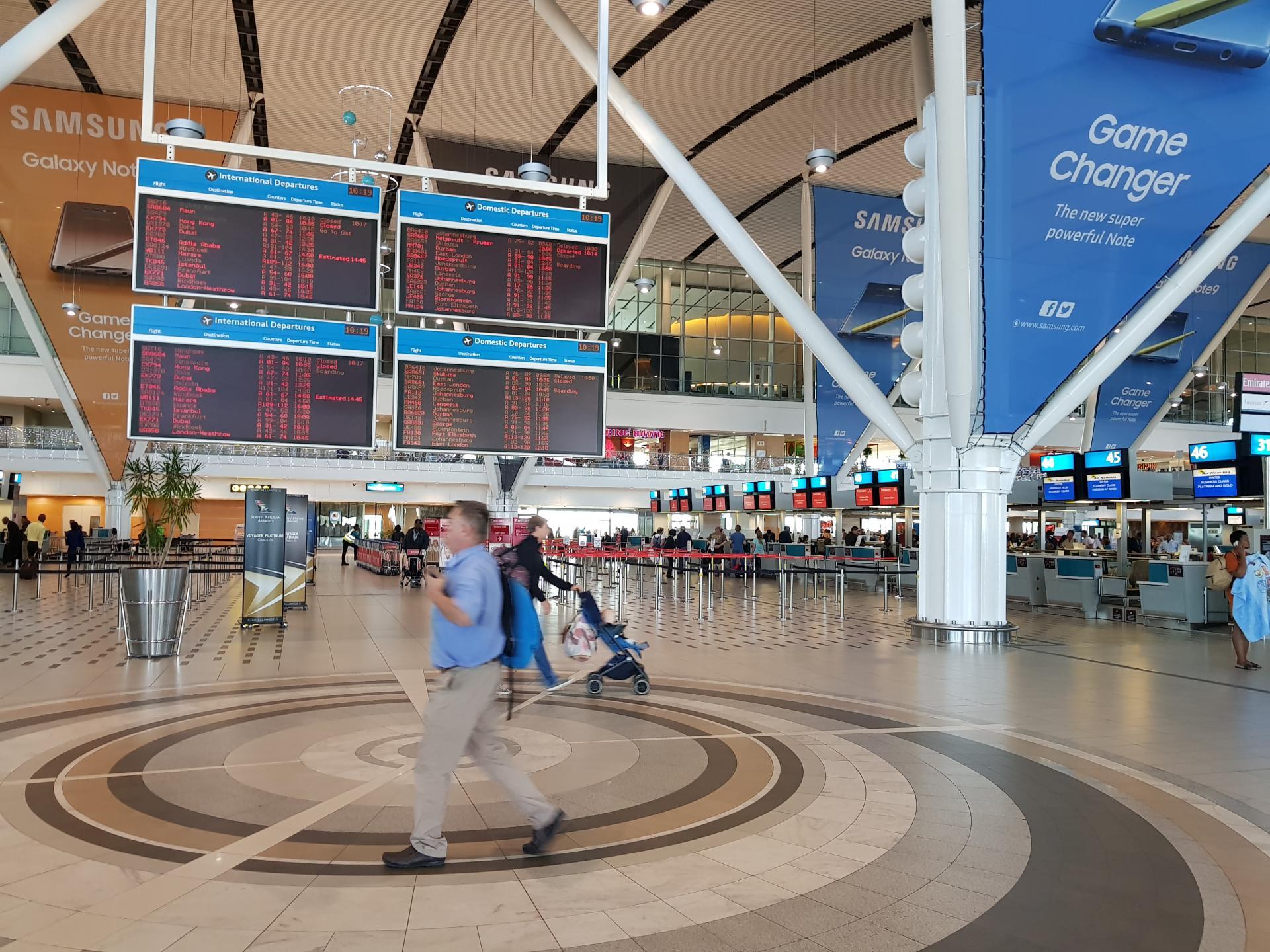 аэропорт Кейптауна