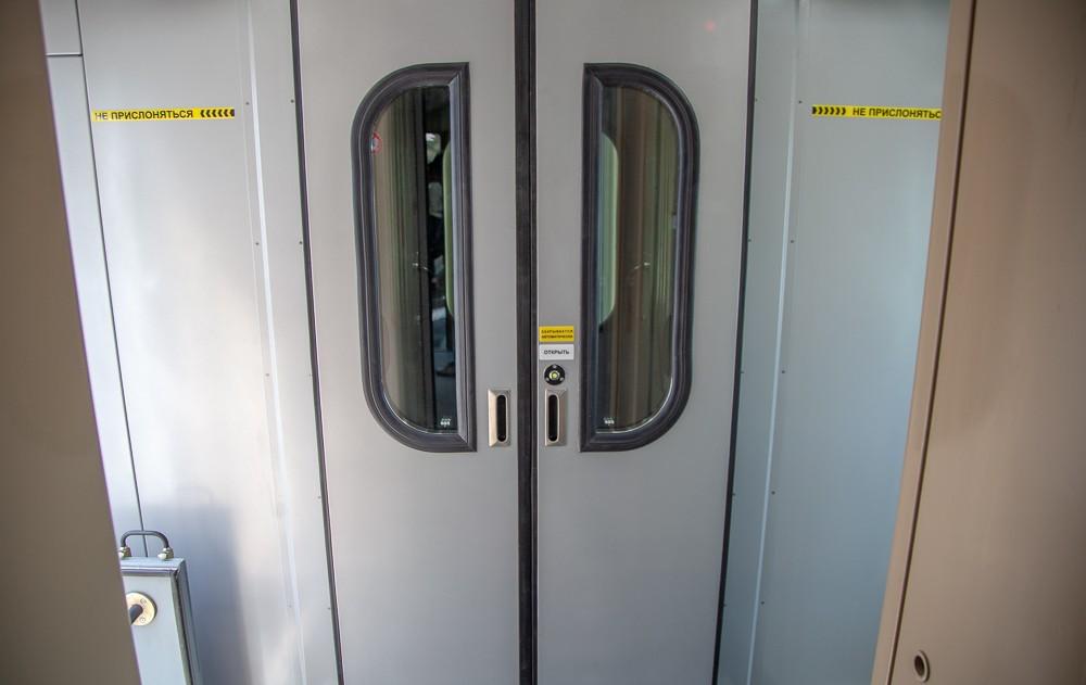 переход между сцепкой новых вагонов РЖД