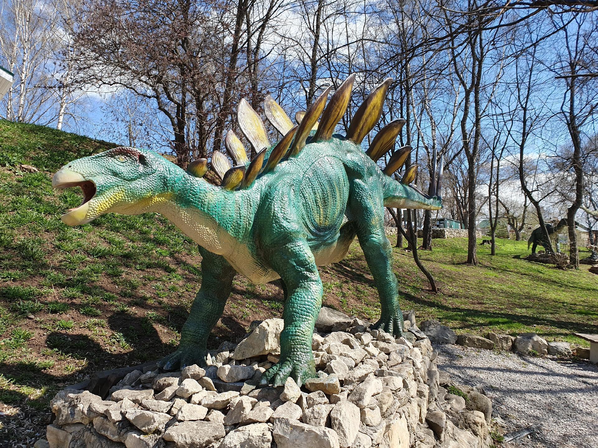 динозавр в динопарке, Котельнич