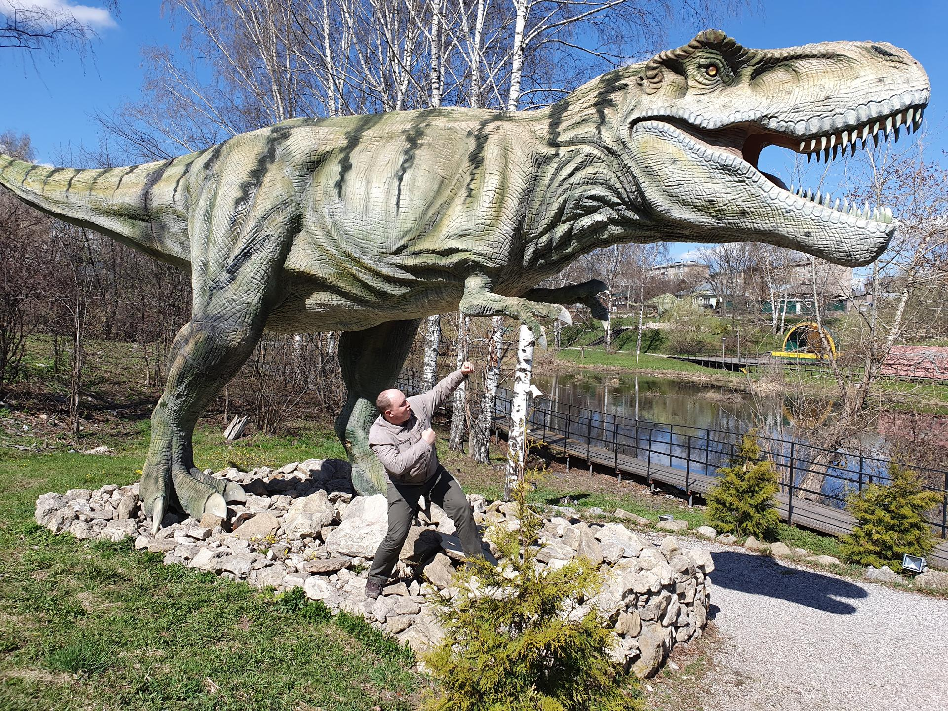Вятский лапоть и тираннозавр