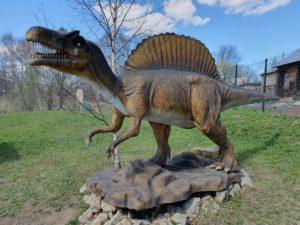 Макет динозавра в парке динозавров, Котельнич