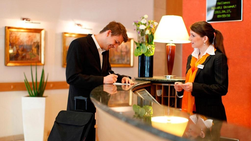 бронирование в отеле