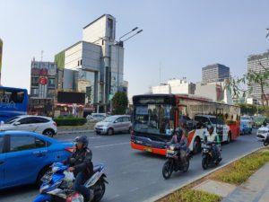 дорожный трафик в Джакарте