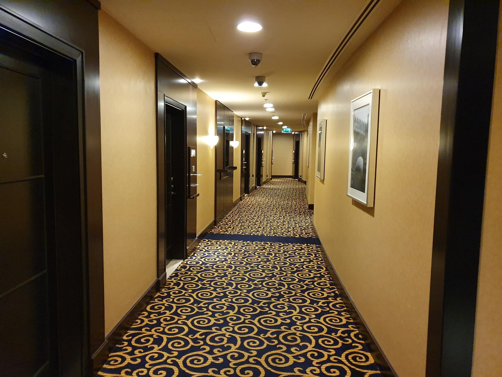В коридорах отеля Mariott Marquis, Доха, Катар