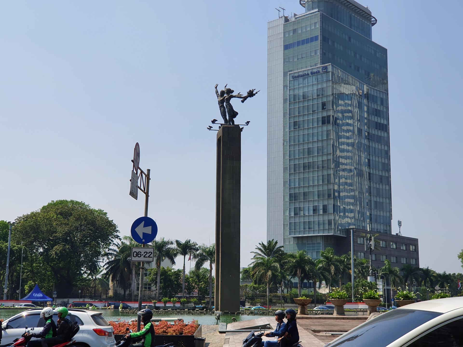 Памятник Selamat Datang, Джакарта