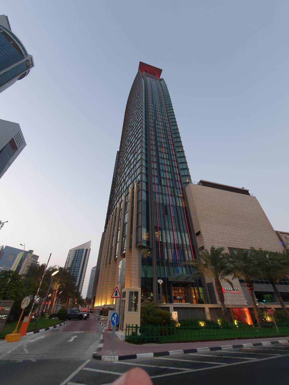 здание отеля Mariott Marquis, Доха