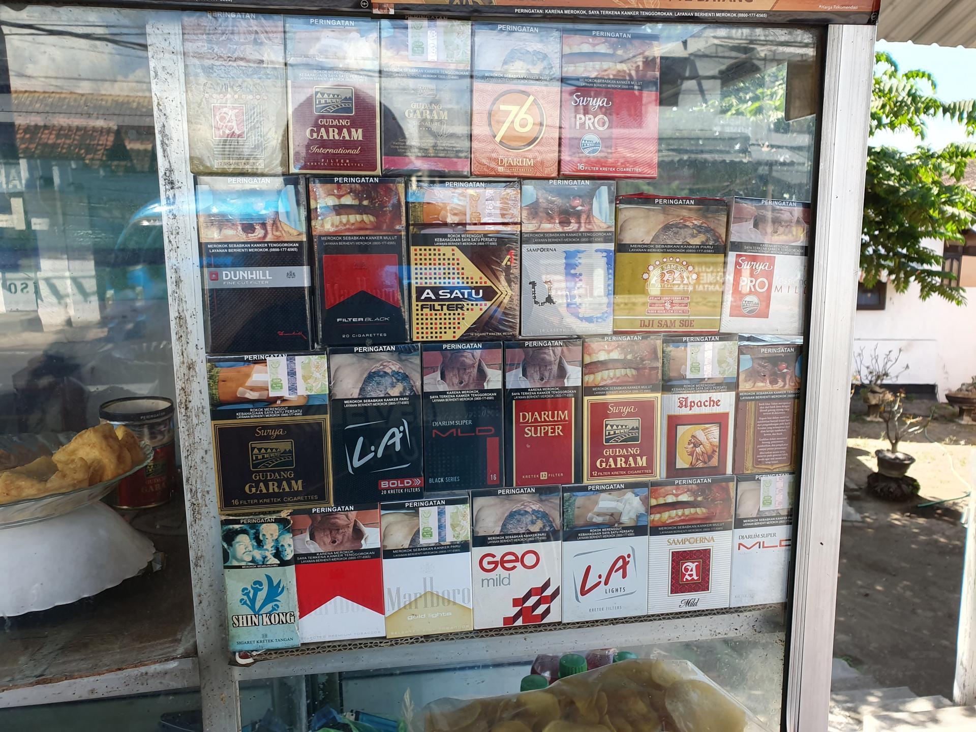 сигареты в Индонезии