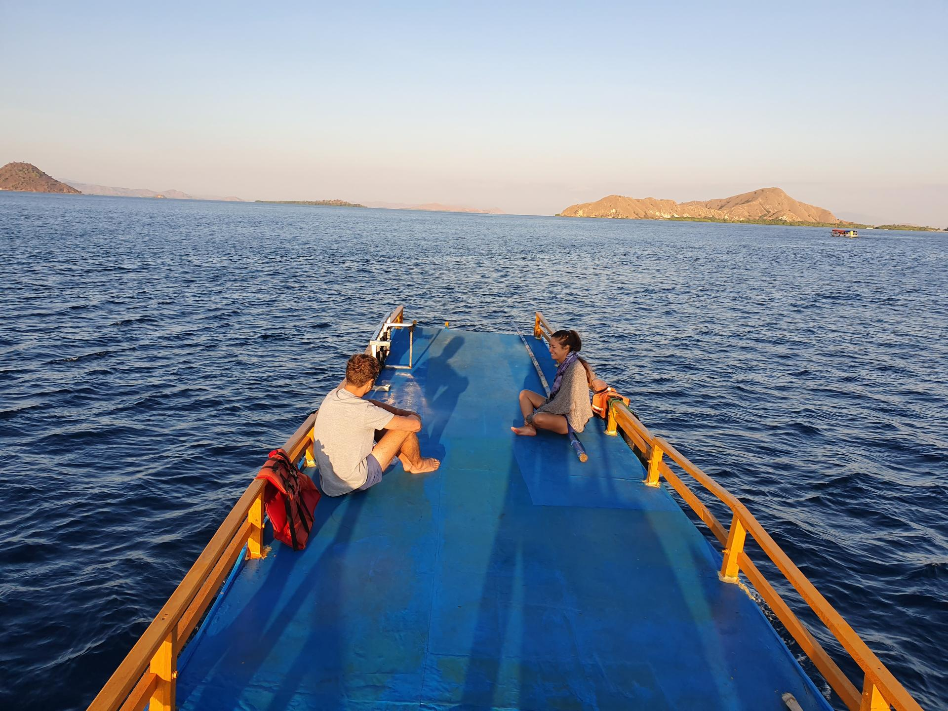 верхняя палуба индонезийского судна