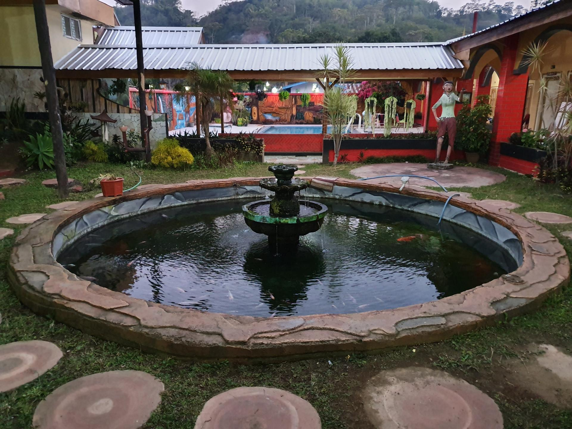 фонтан в Индонезии