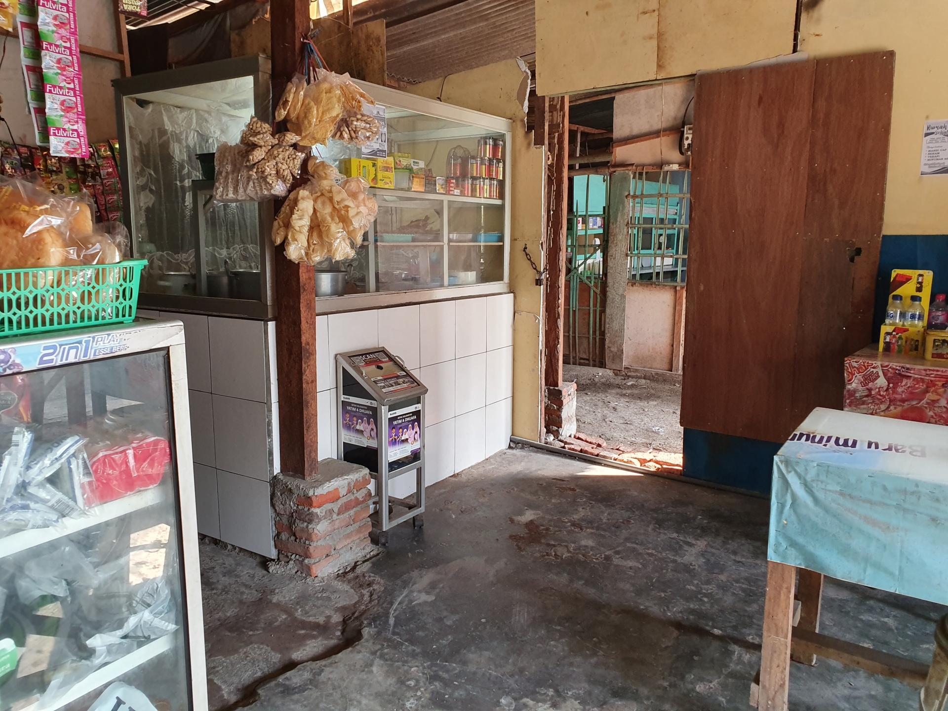 столовая для местных в Индонезии