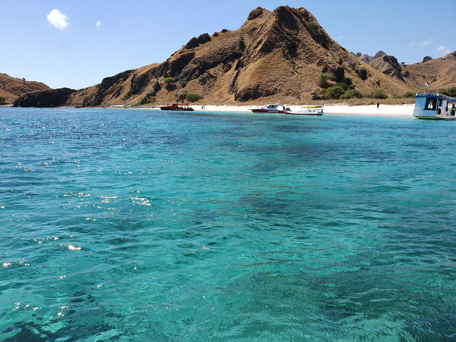 пляж на острове Канава, Индонезия