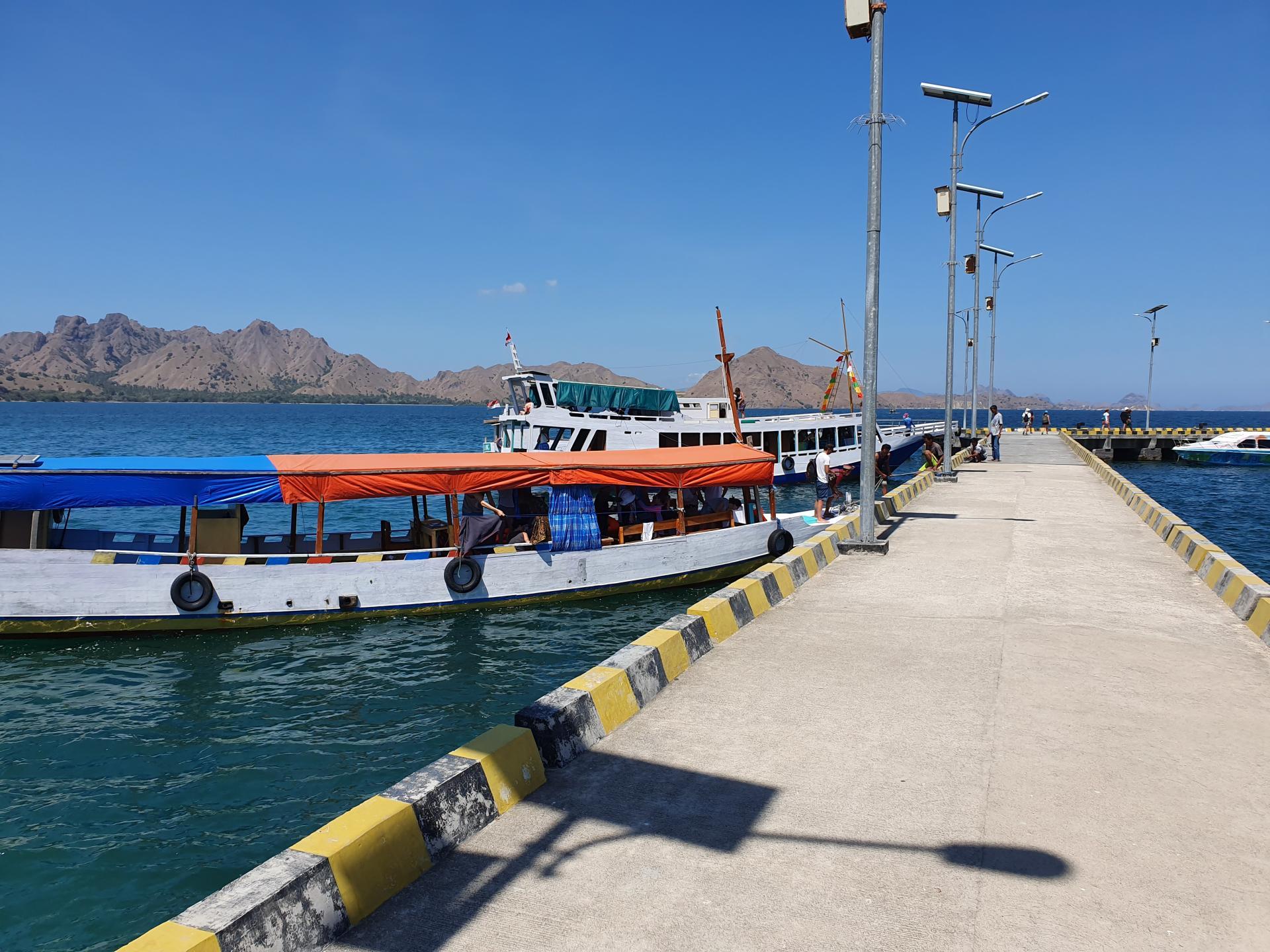 пирс острова Комодо