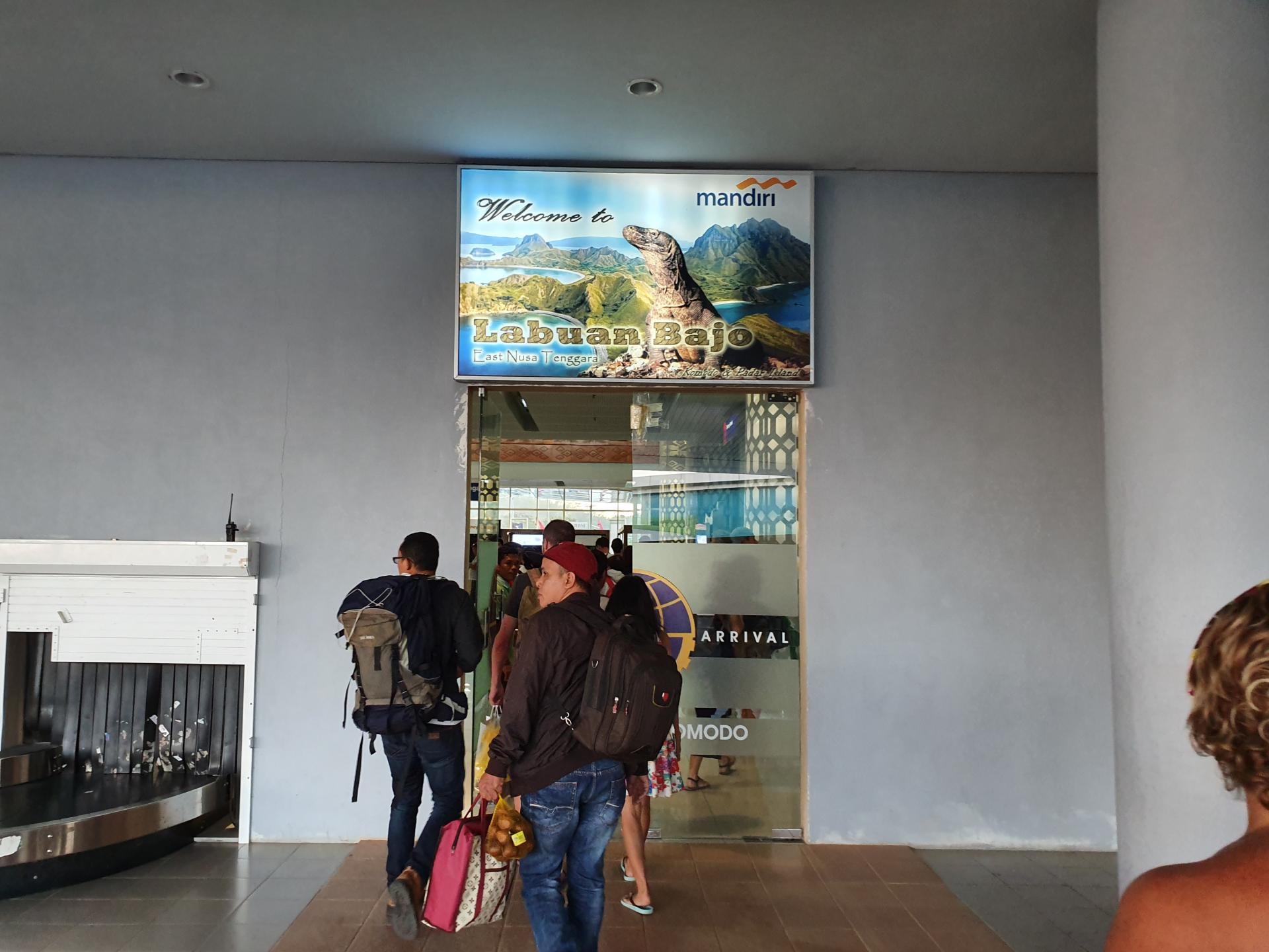 аэропорт Лабуан-Баджо