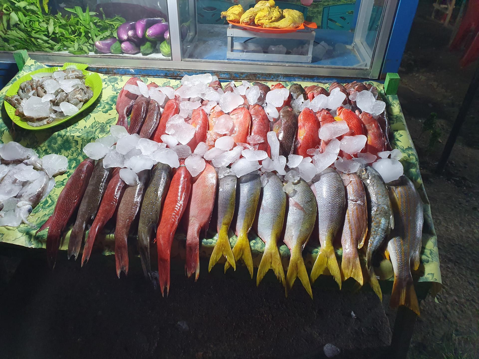 морепродукты в Лабуан-Баджо