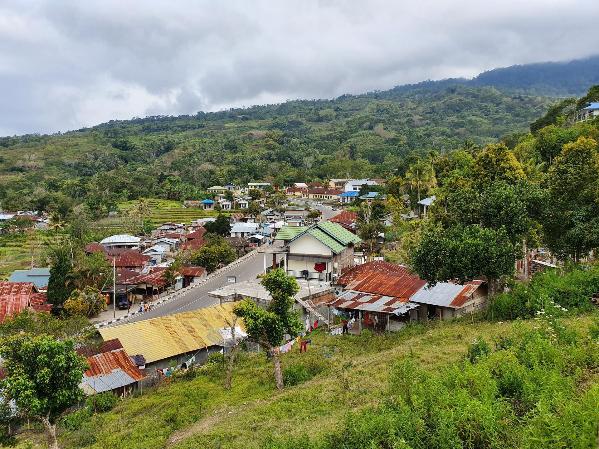 деревня Мони, Индонезия