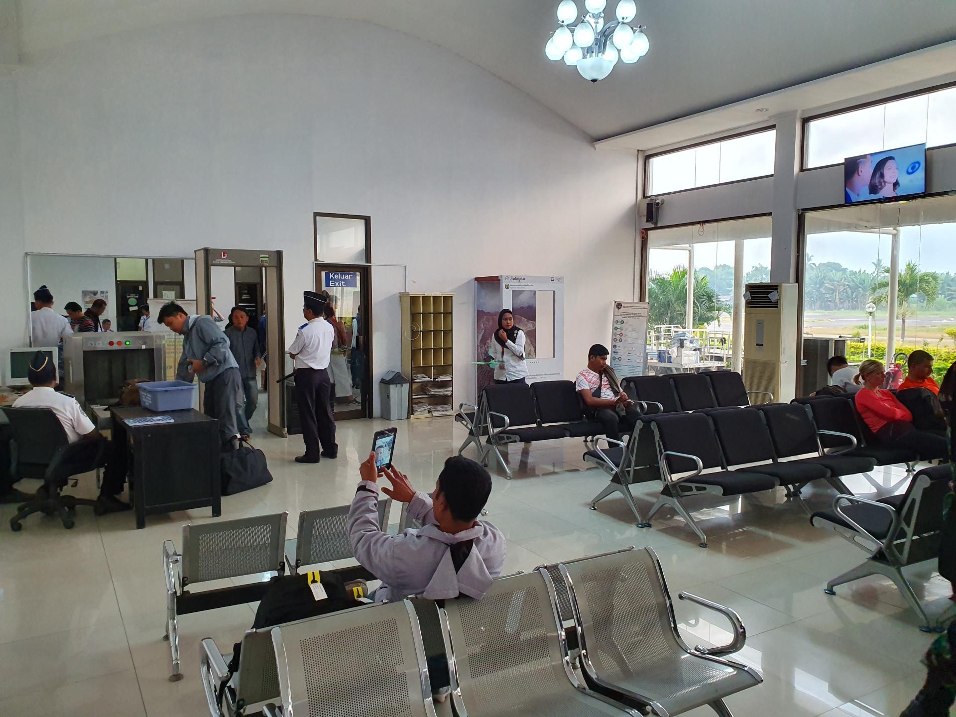 зал ожидания аэропорта Энде