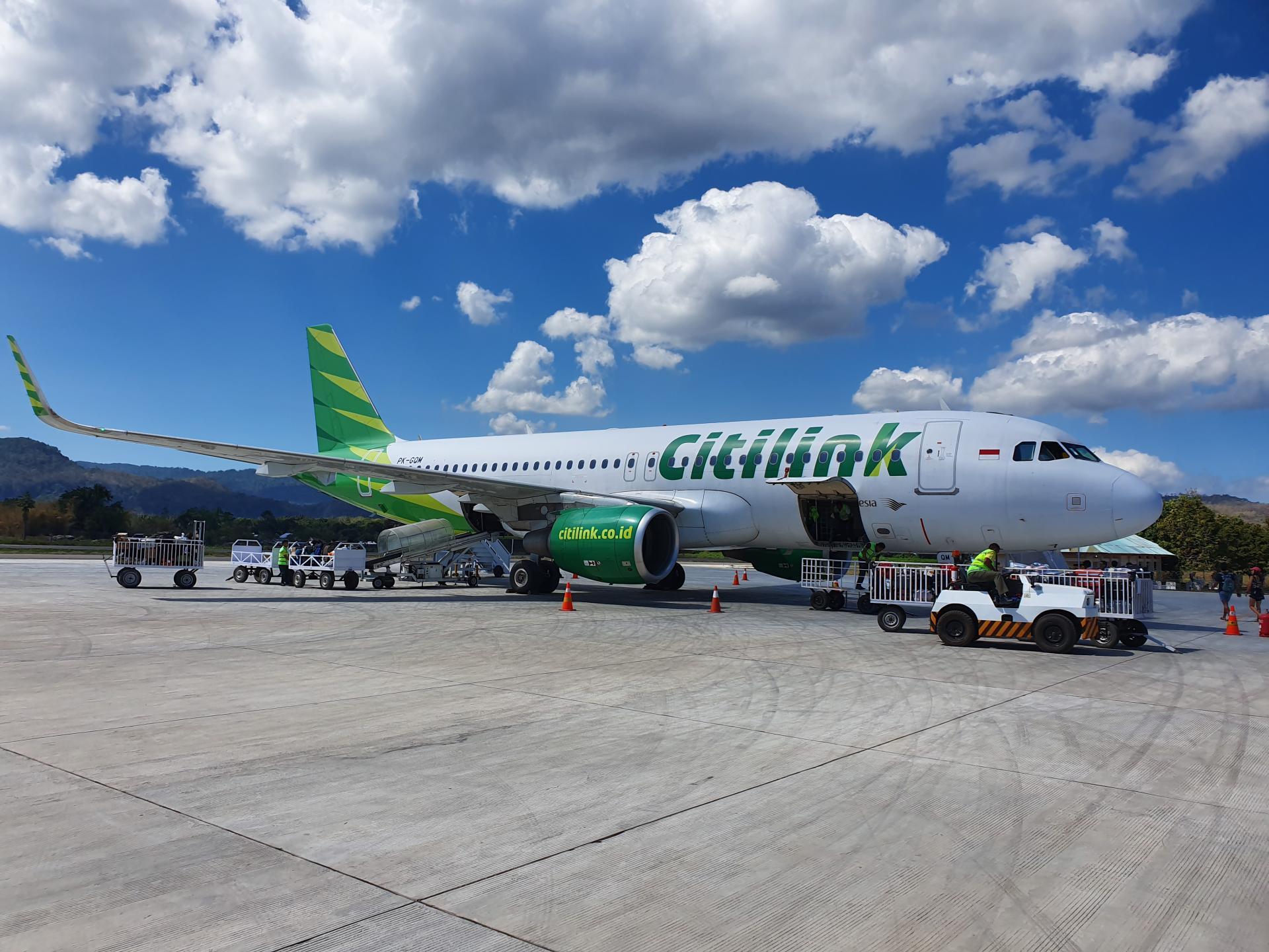 самолет в Индонезии