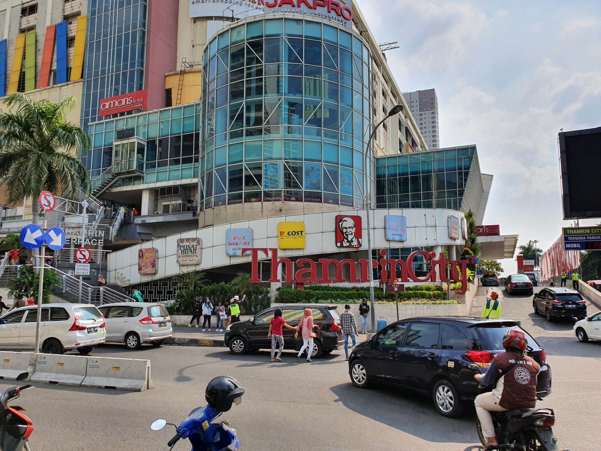 Городской район Тамрин в Джакарте, Индонезия