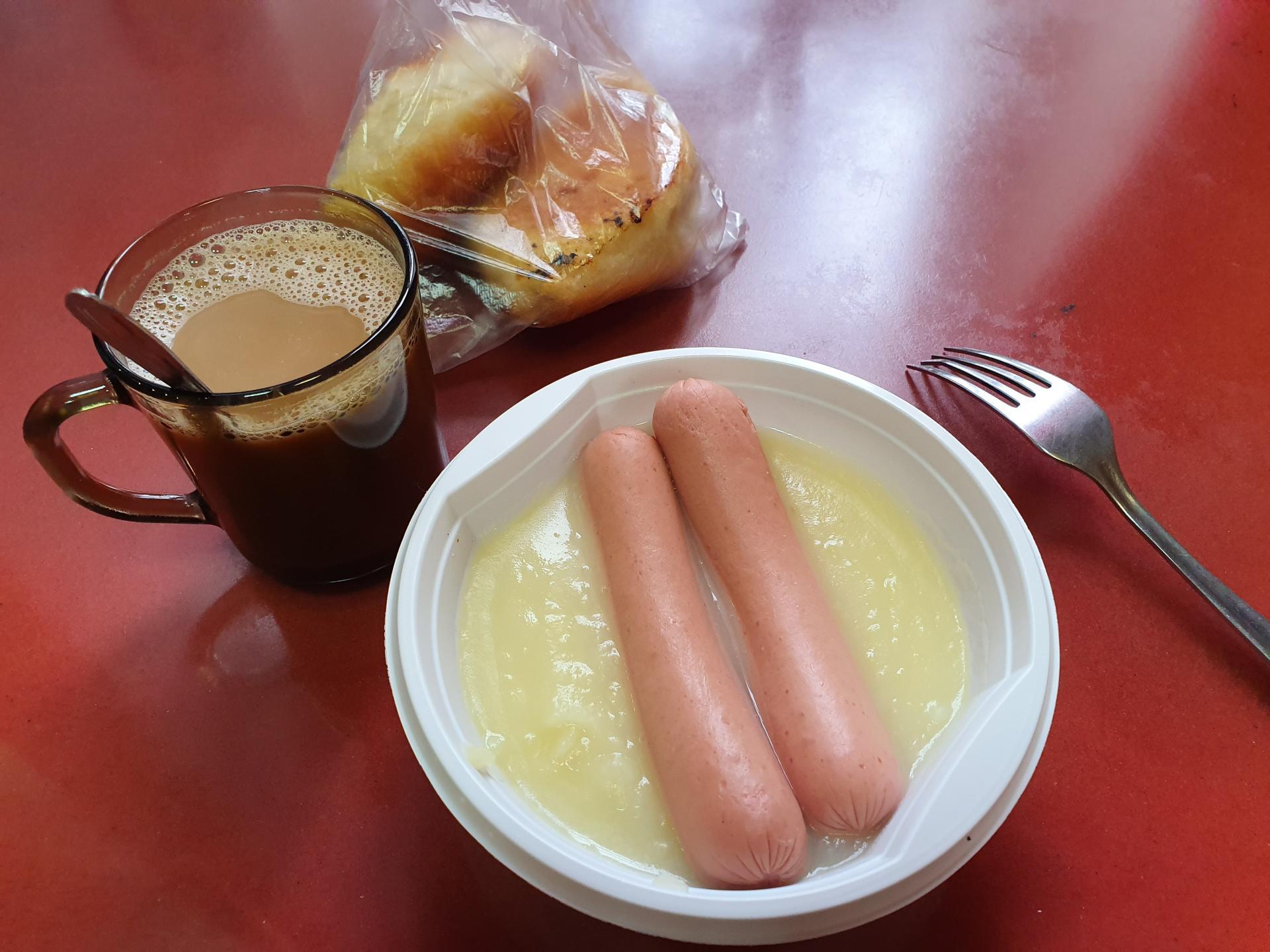 завтрак в РЖД