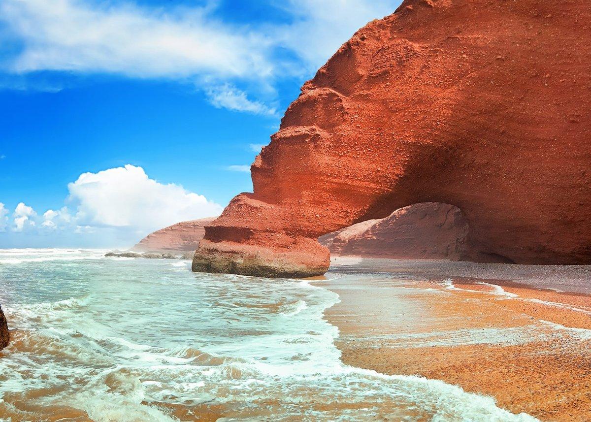 побережье Марокко