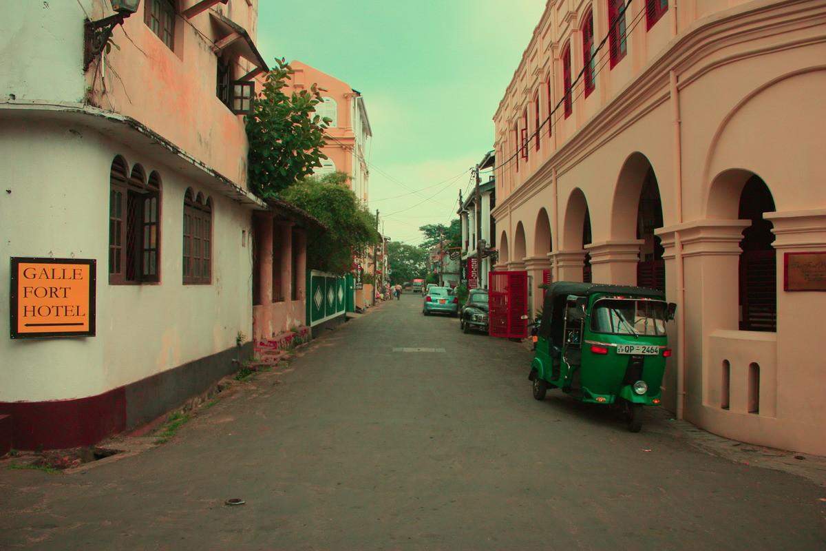 пустые улицы Шри-Ланки