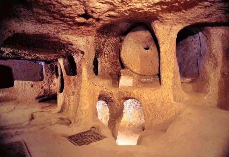 Подземный город Каймаклы, Турция